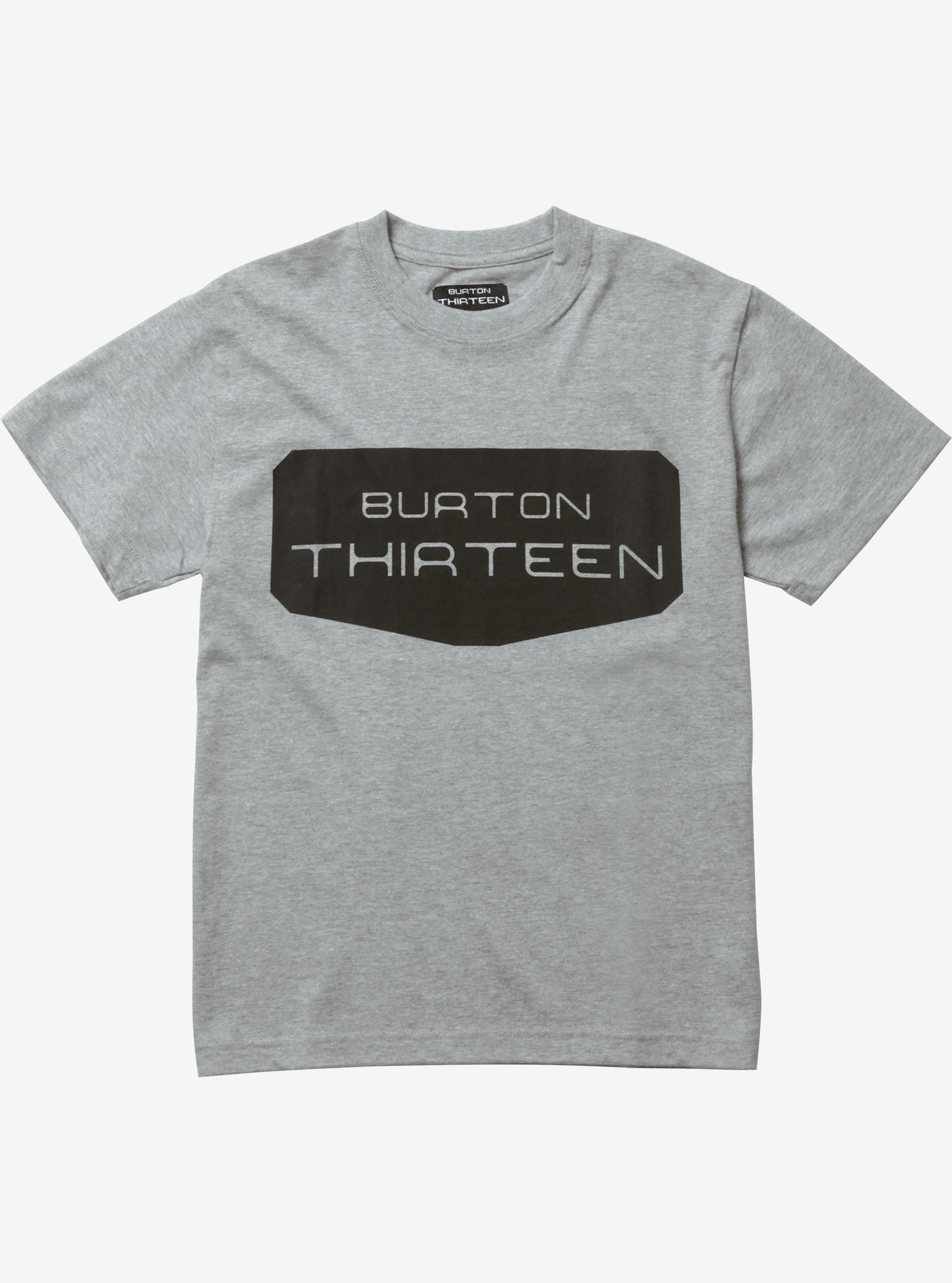 Burton THIRTEEN Wikvaya Short Sleeve T Shirt shown in Heather Gray