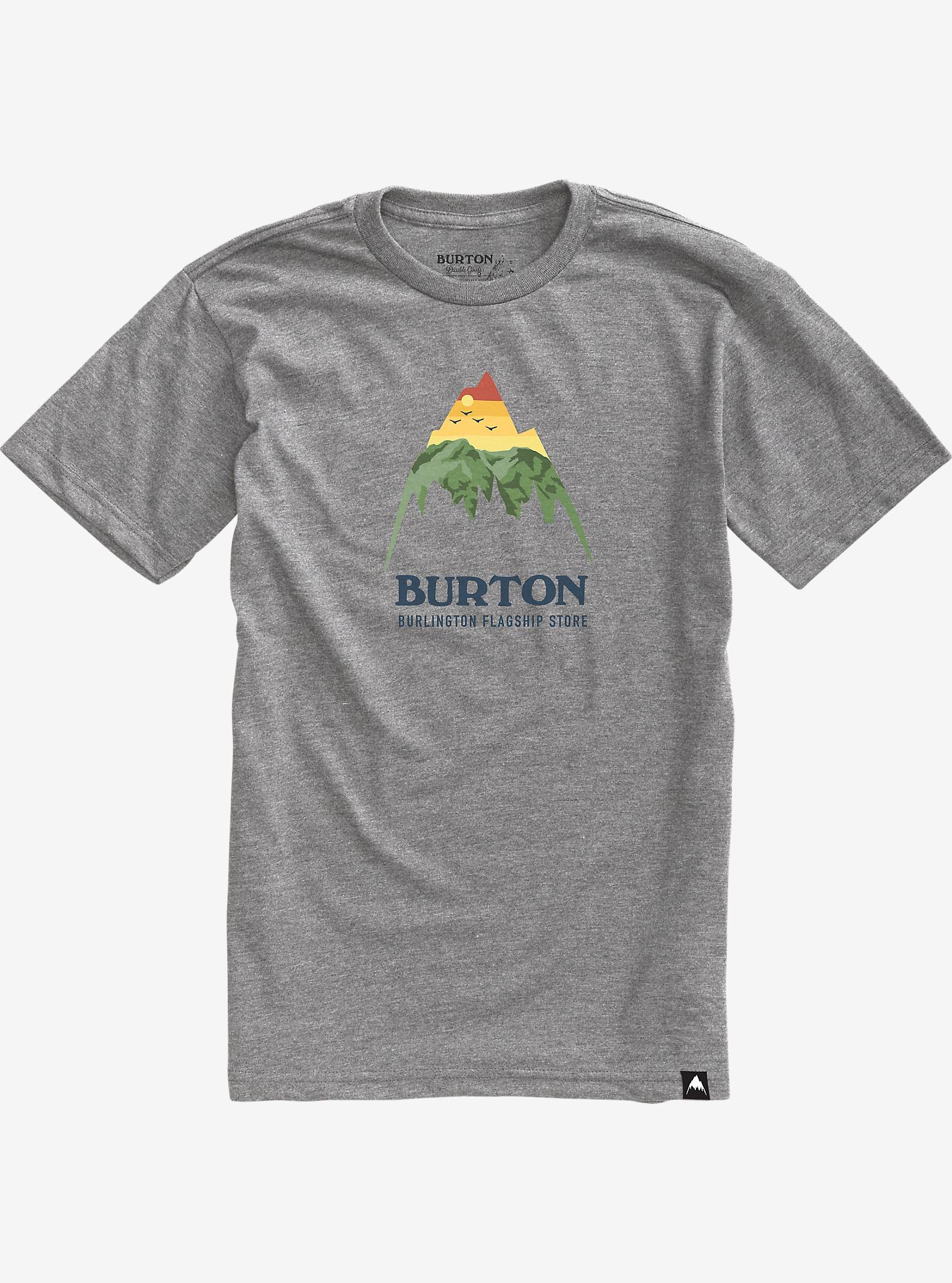 Burton City Classic Mountain T Shirt shown in Burlington Gray Heather