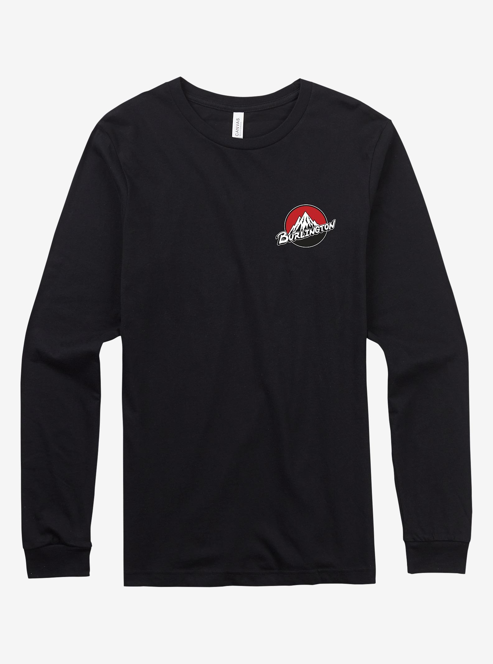 Burton City Retro Long Sleeve T Shirt shown in Burlington True Black