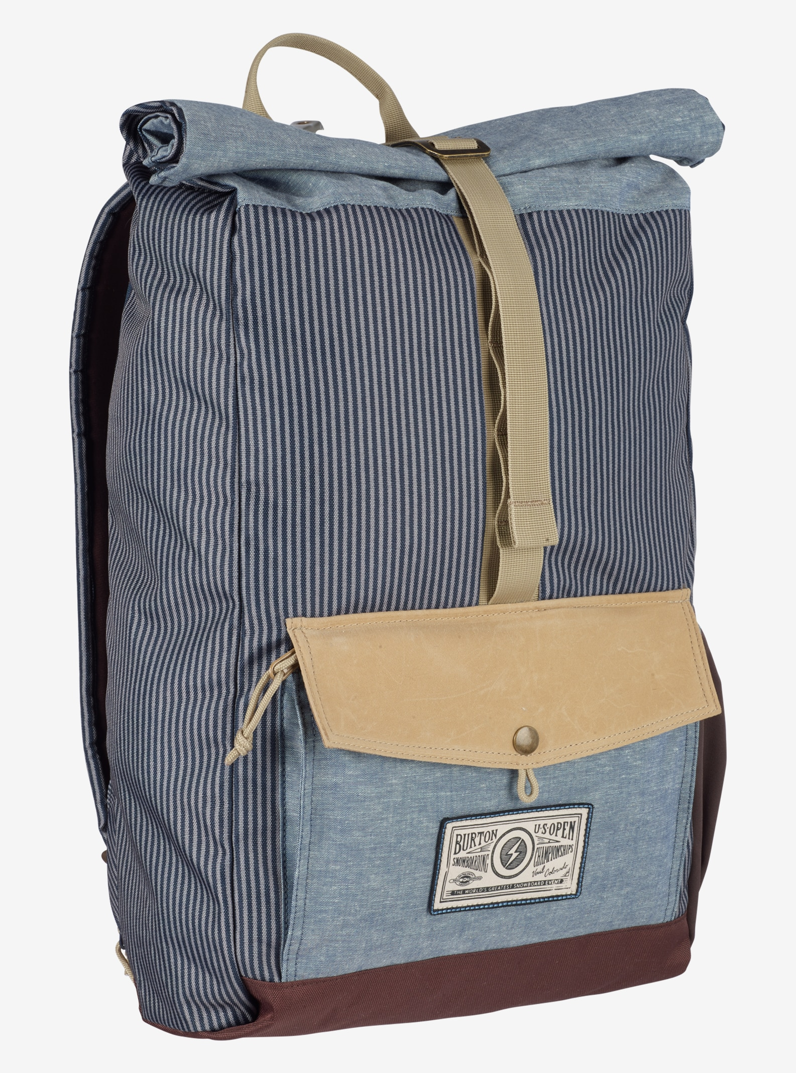 Burton US Open Export Backpack shown in USO Blue