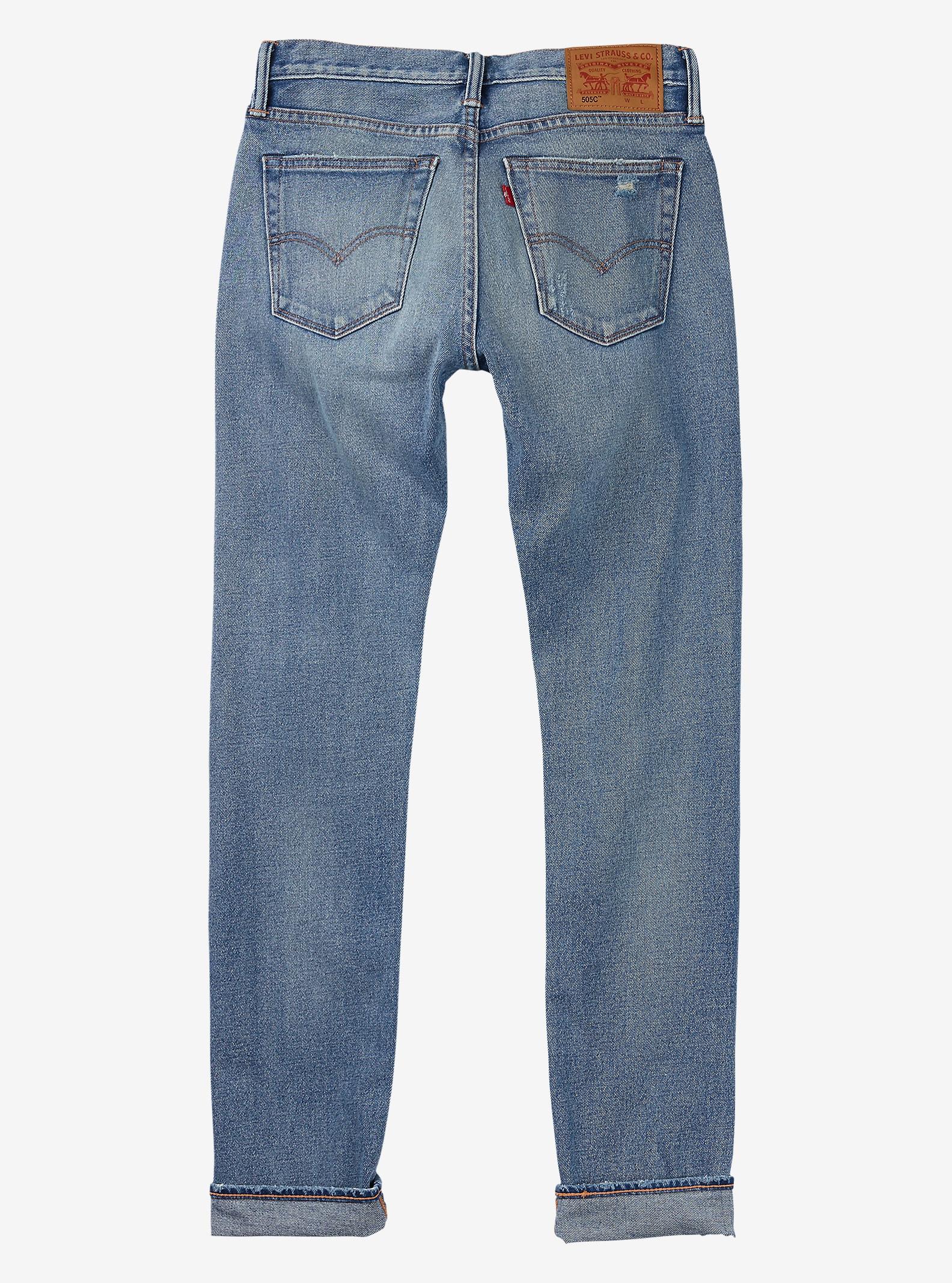 Women's Levi's® 505™C Jeans shown in Denim