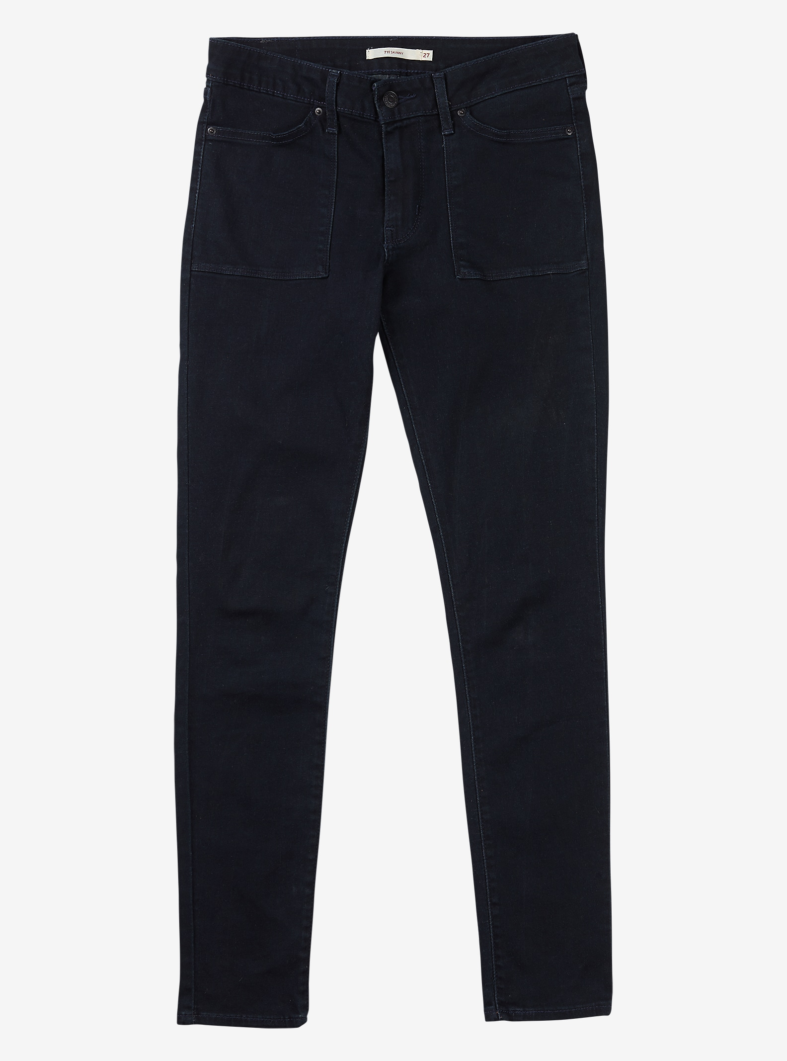 Women's Levi's® 711 Work Wear Skinny Jean shown in Midnight