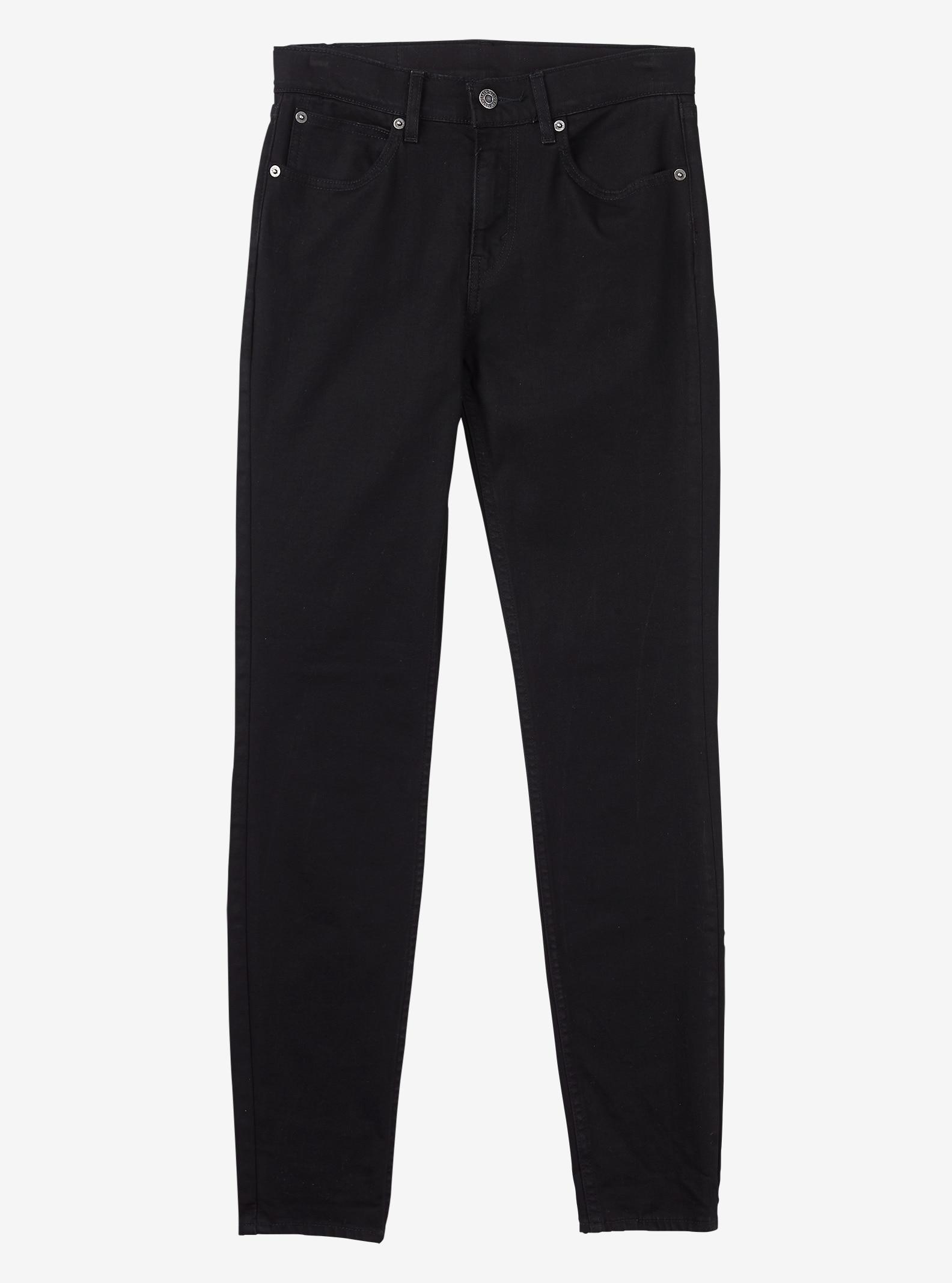 Women's Levi's® Commuter™ High Rise Skinny Jean shown in Black
