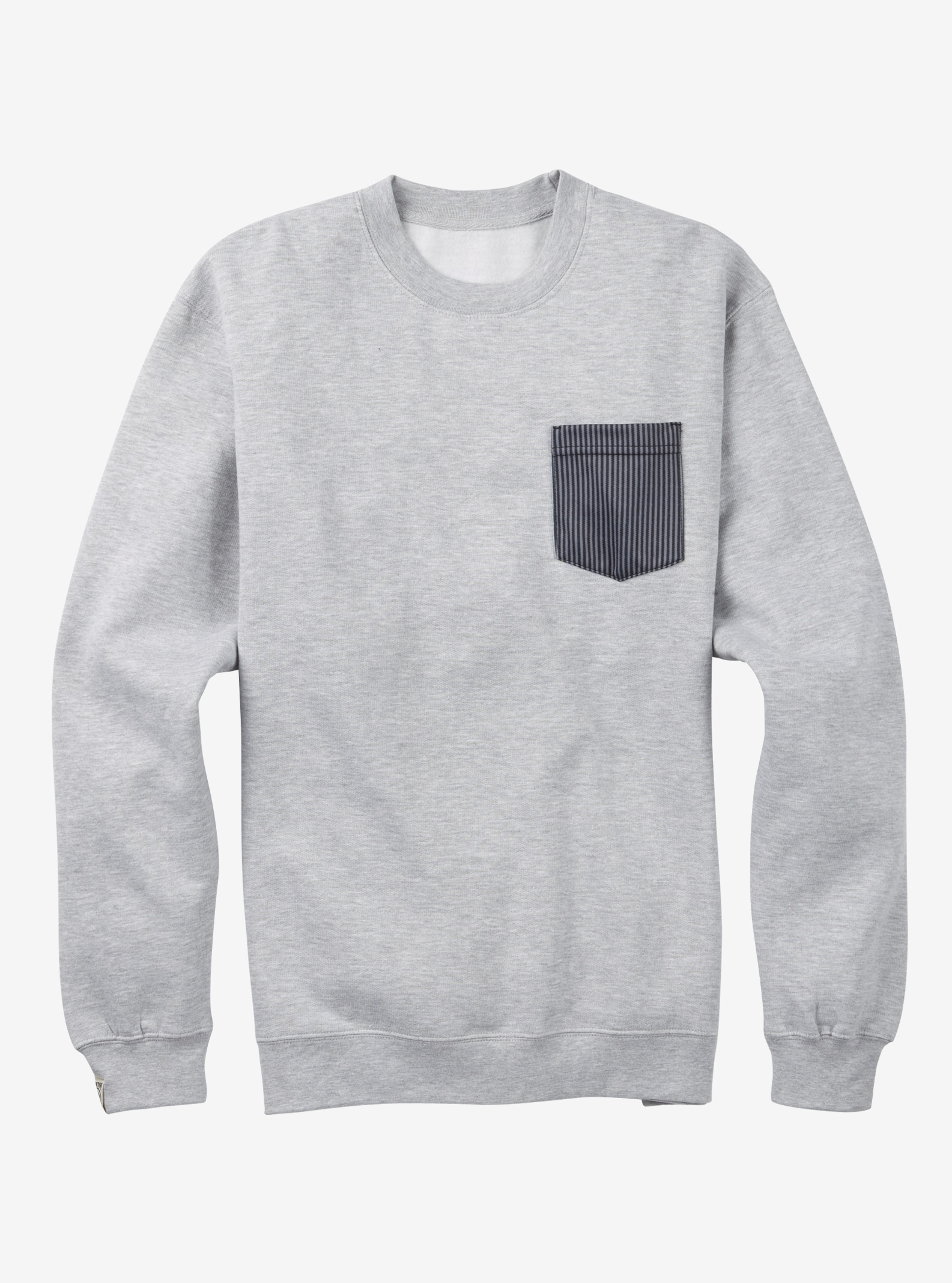 Burton US Open Bolt Crew shown in Gray Heather