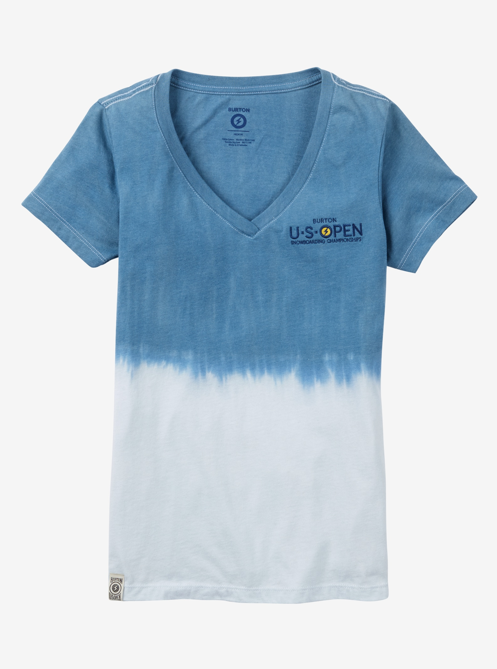 Burton US Open Fade Short Sleeve T Shirt shown in Neptune Fade