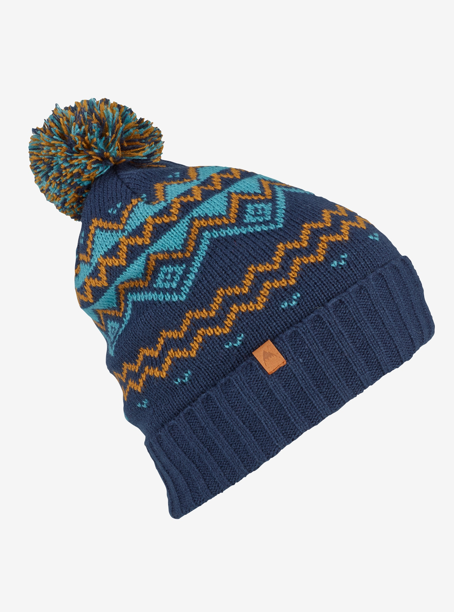 Men's Burton Mountain Man Beanie shown in Mood Indigo