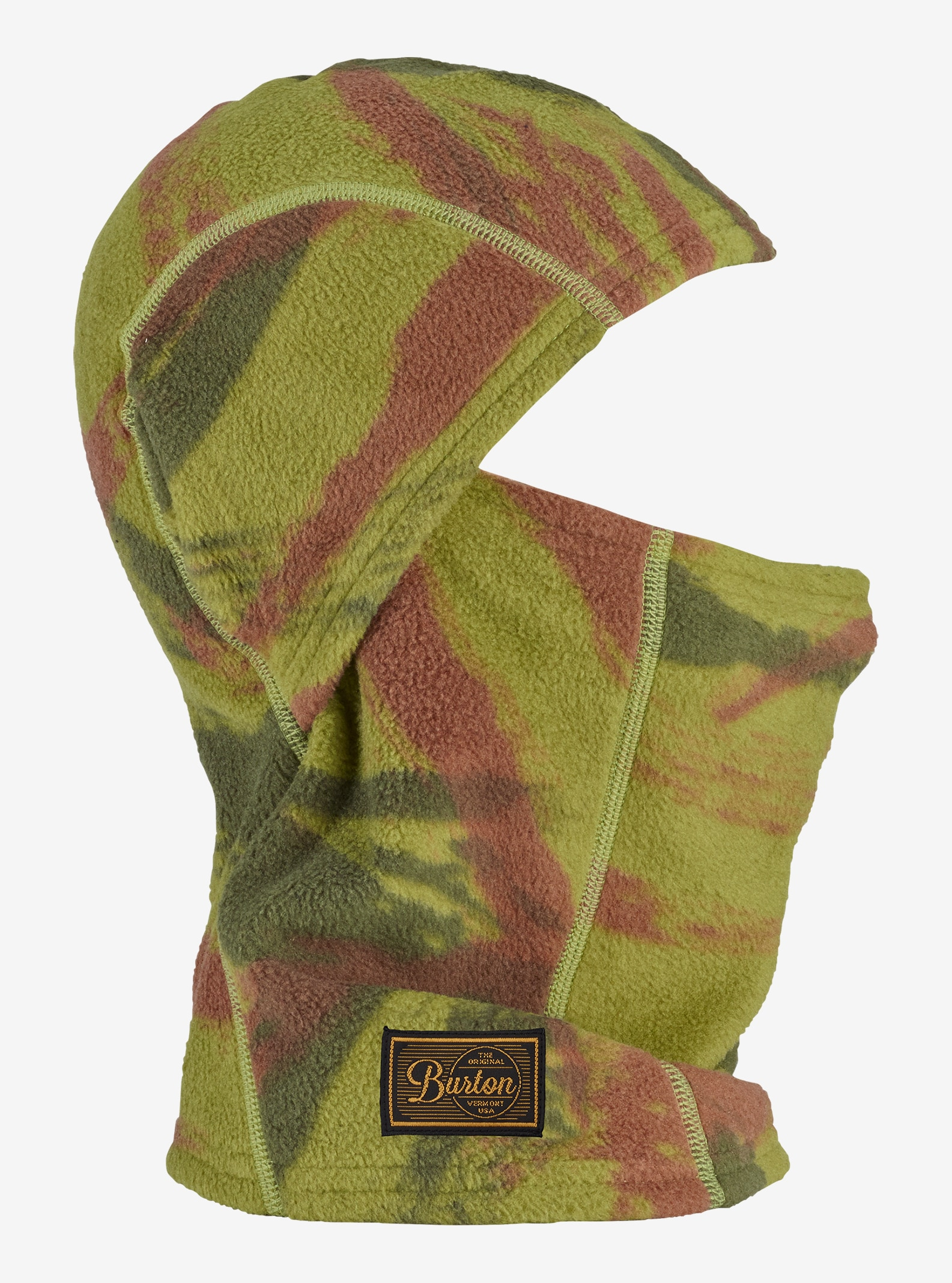Burton Ember Fleece Balaclava shown in Brush Camo