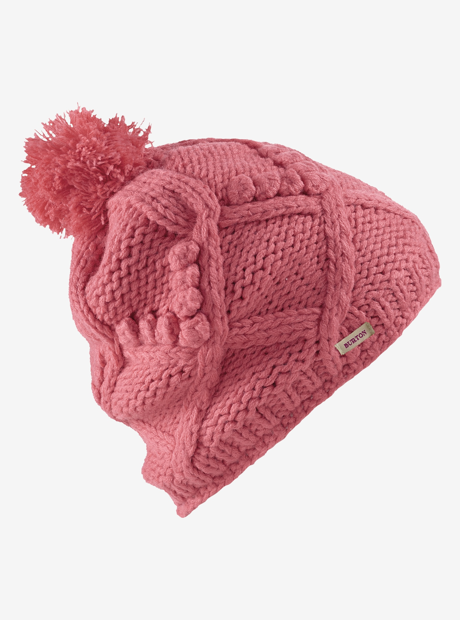 Women's Burton Chloe Beanie shown in Dusty Rose