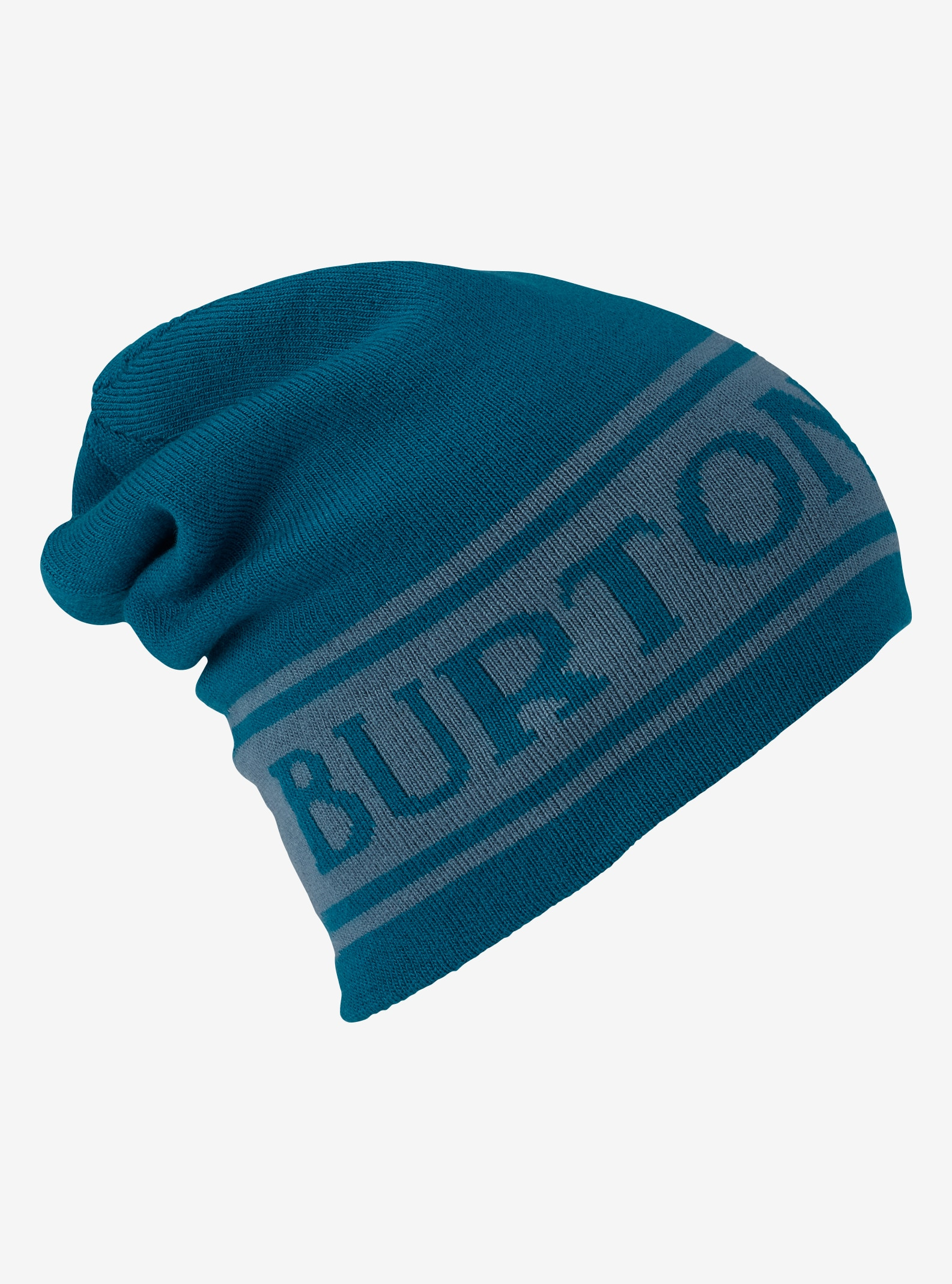 Burton Billboard Slouch Beanie - Reversible shown in Jasper / Winter Sky