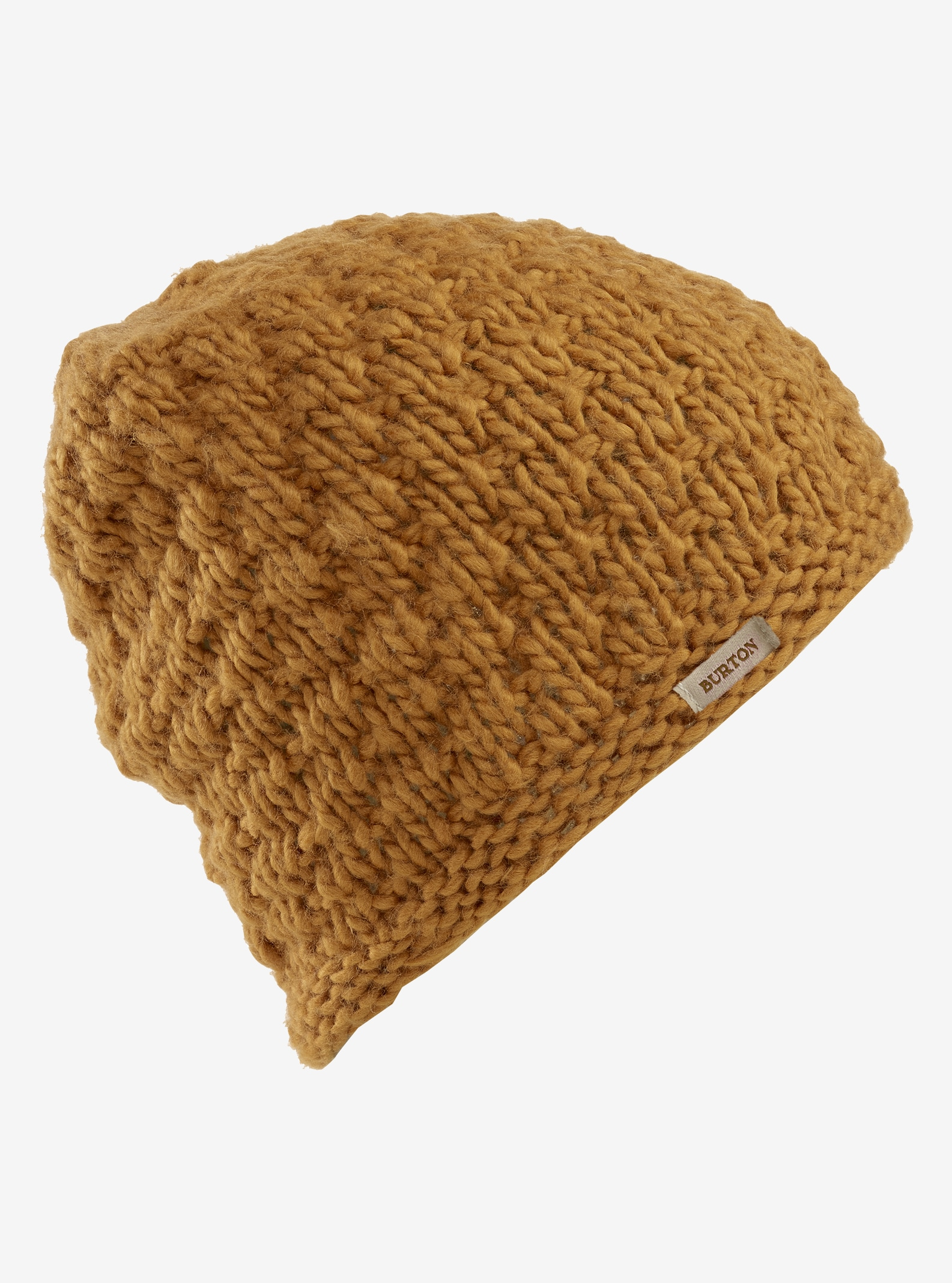 Women's Burton Big Bertha Beanie shown in Harvest Gold