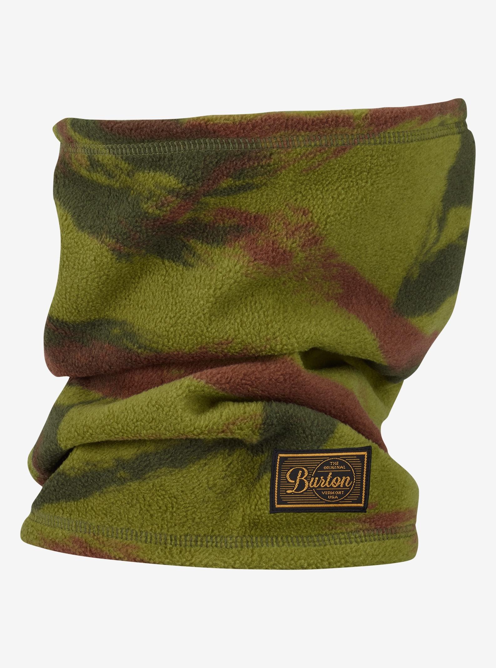 Burton Ember Fleece Neck Warmer shown in Brush Camo