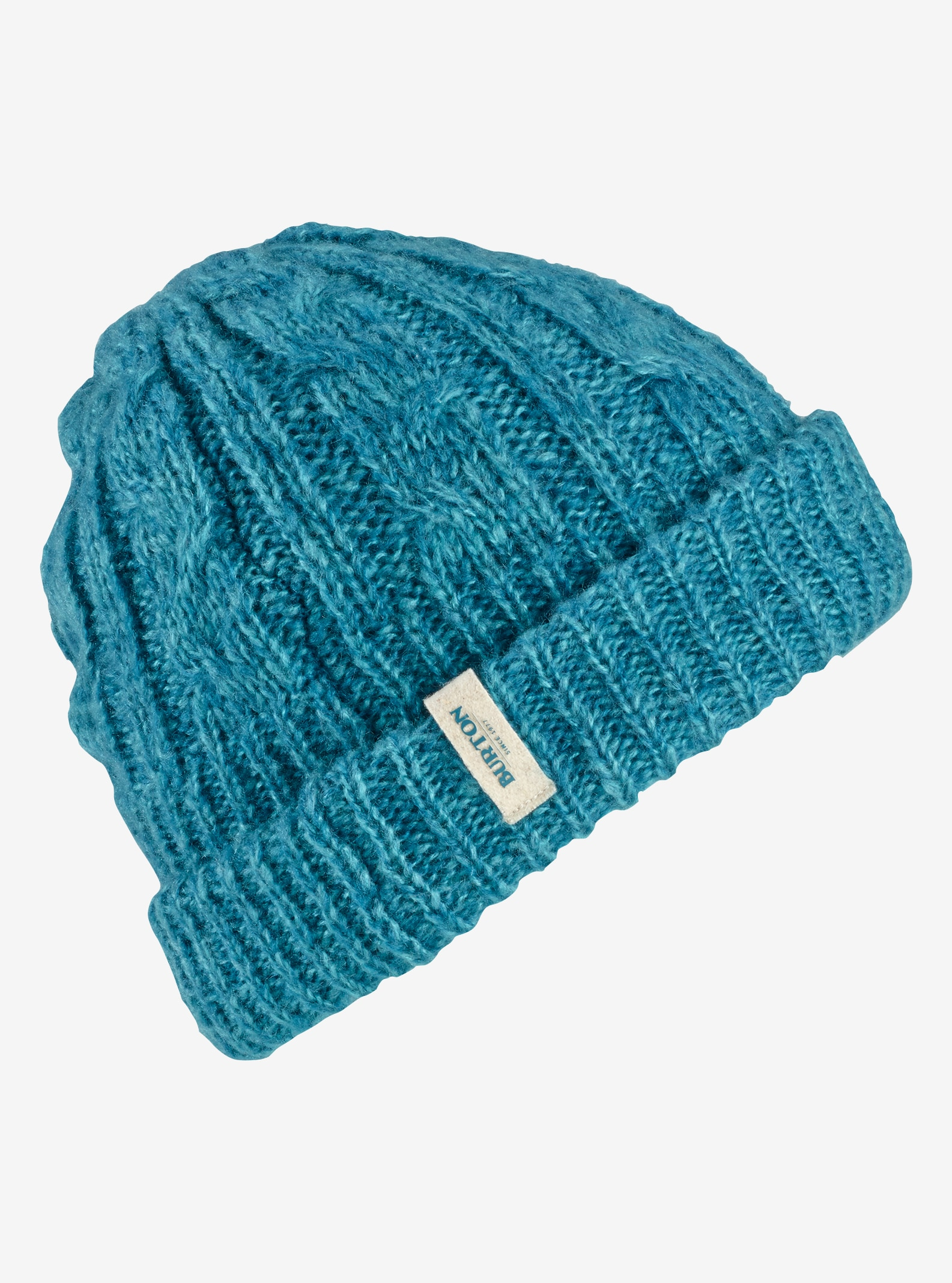 Women's Burton Bone Cobra Beanie - Reversible shown in Larkspur / Jaded