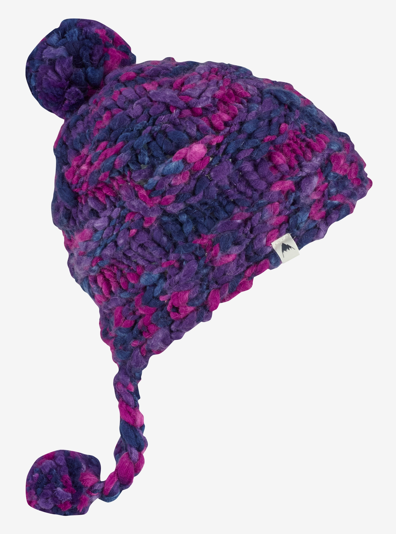 Girls' Burton Nana Earflap Beanie shown in Petunia