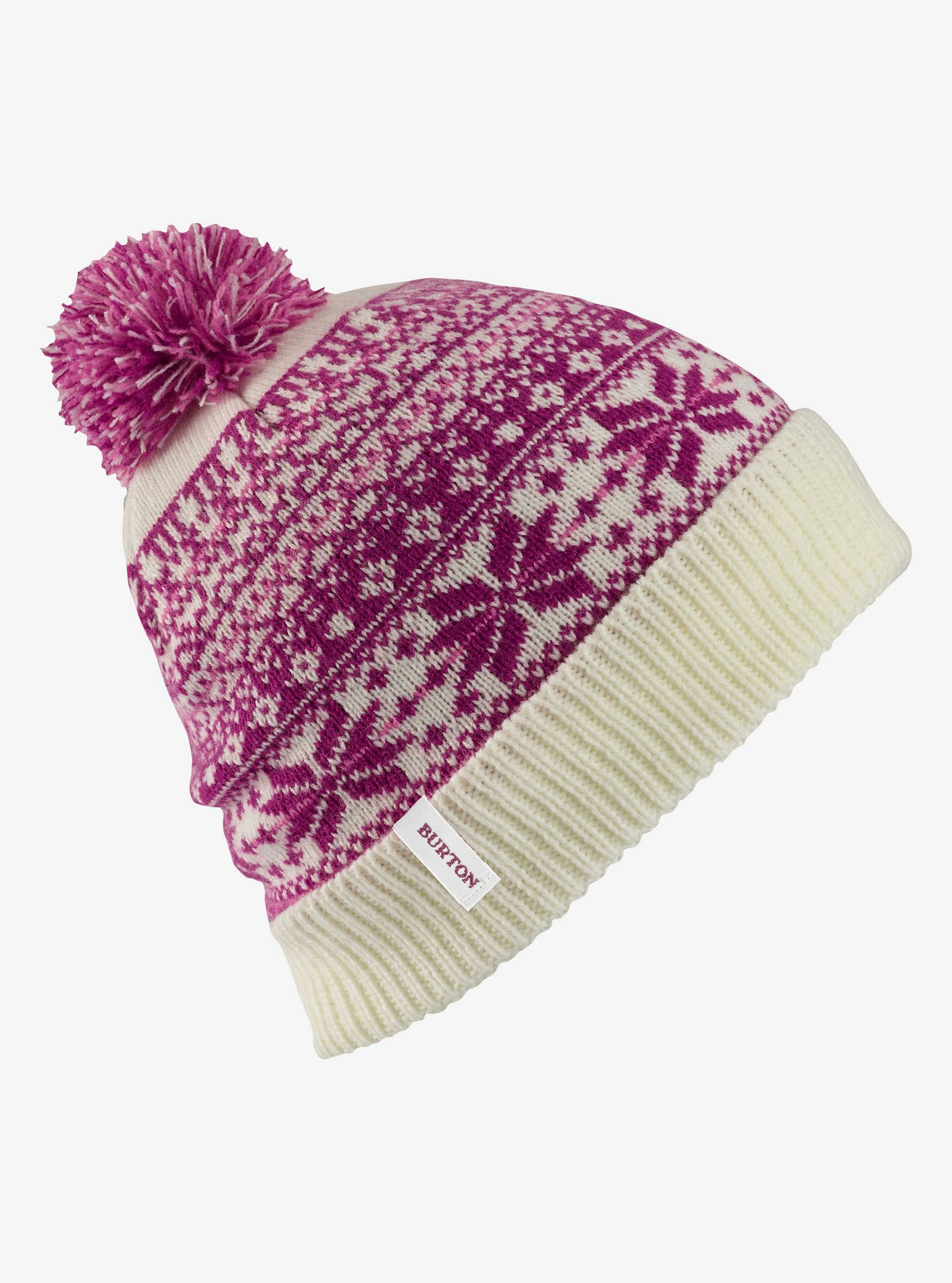 Girls' Burton McKennzie Beanie shown in Stout White