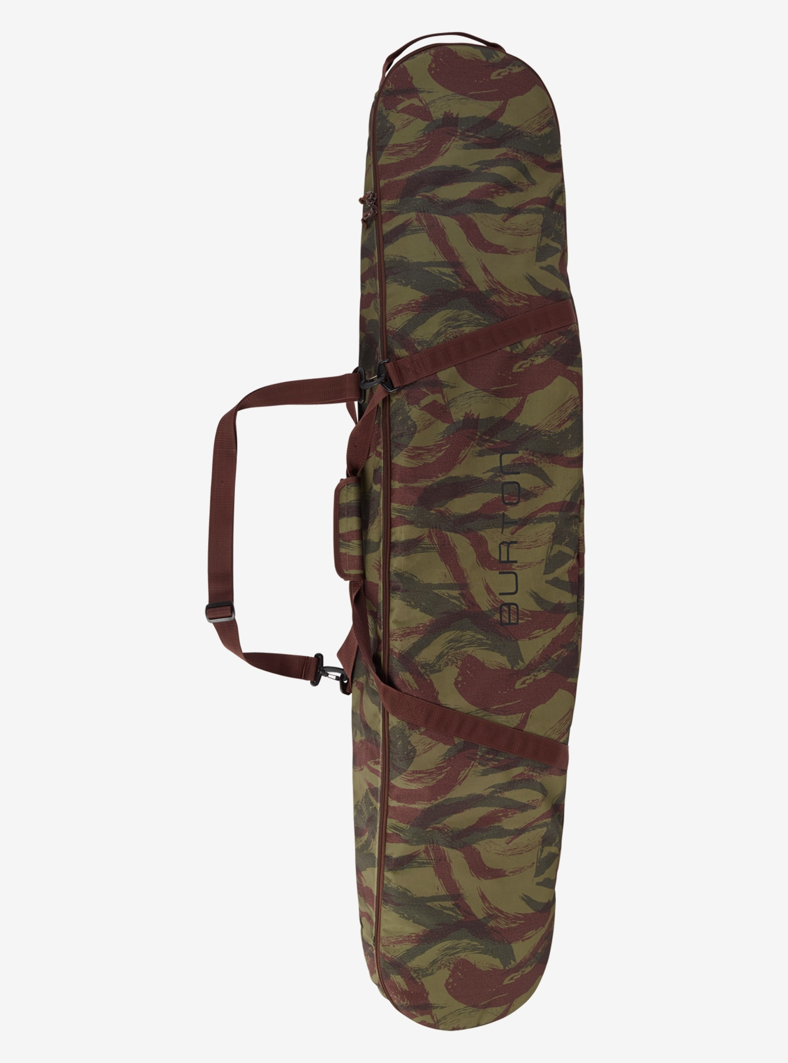 Burton Space Sack shown in Brushstroke Camo Print