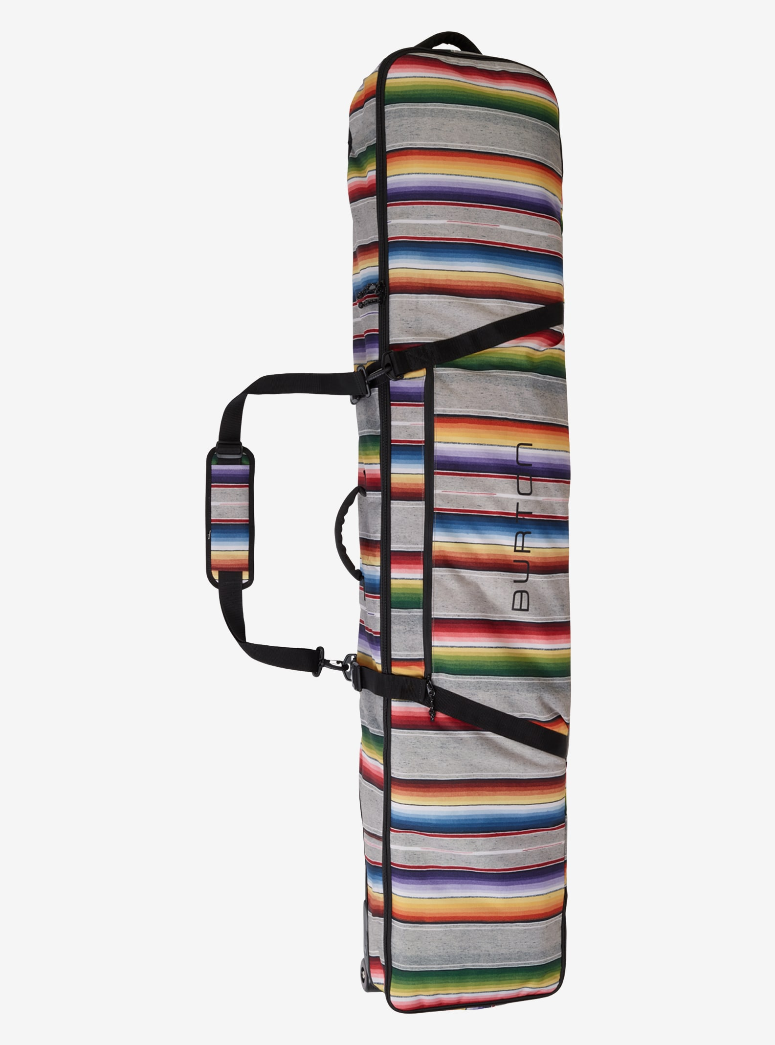 Burton Wheelie Gig Bag shown in Bright Sinola Stripe Print