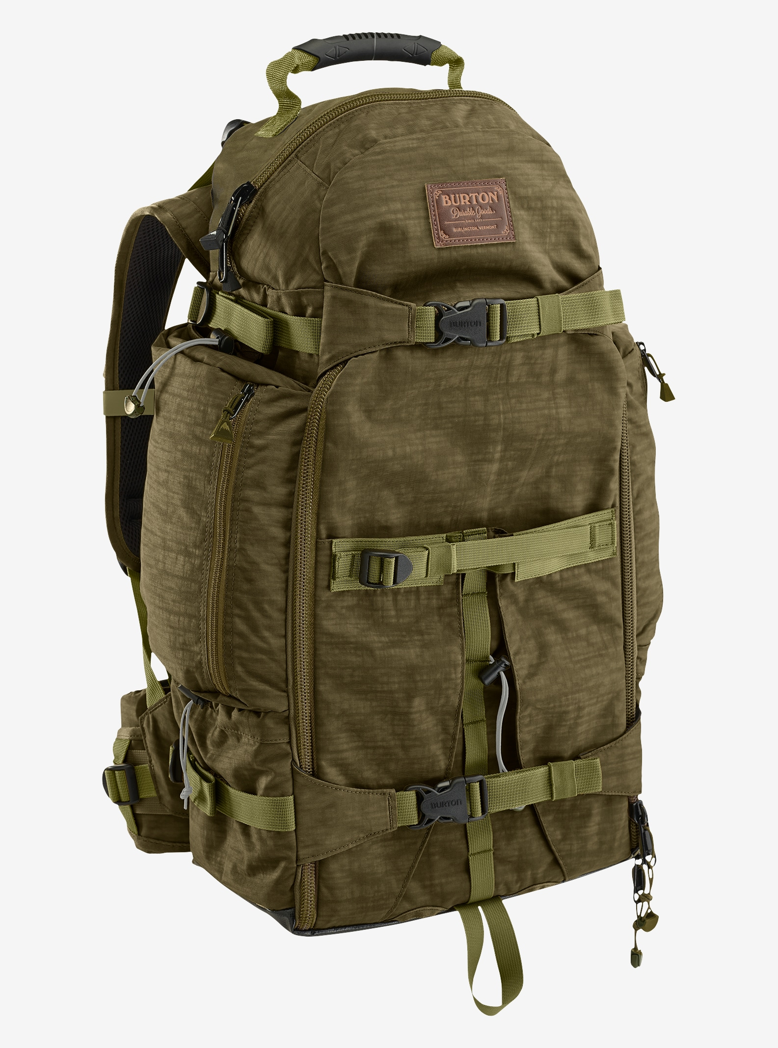 Burton F-Stop 28L Camera Backpack shown in Drab Crinkle