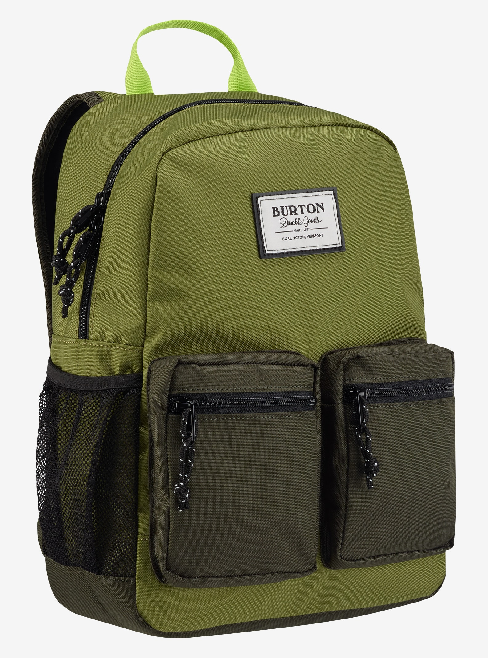 Burton Kids' Gromlet Backpack shown in Olive Branch