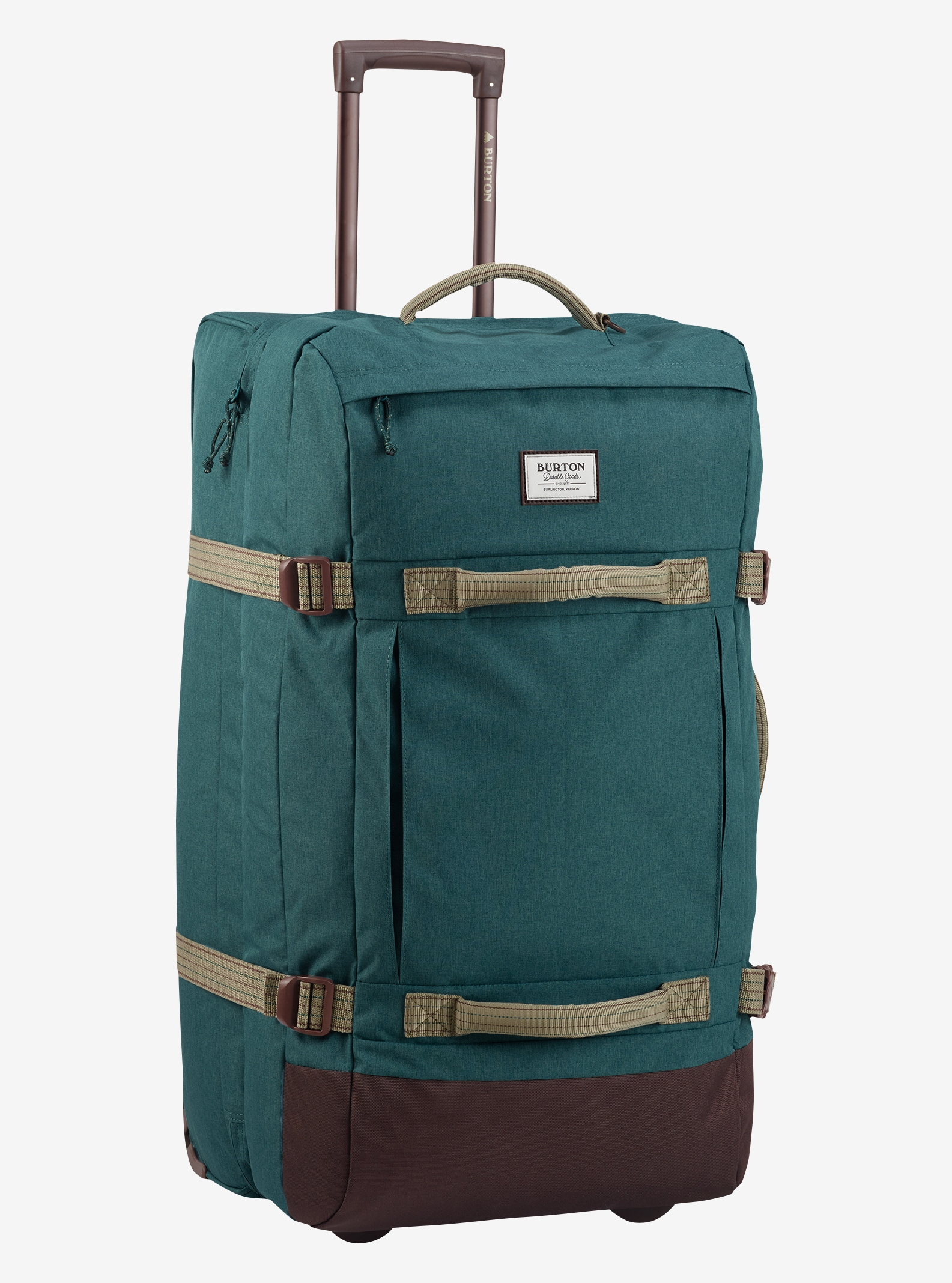 Burton Exodus Roller Travel Bag shown in Jasper Heathered Cordura®