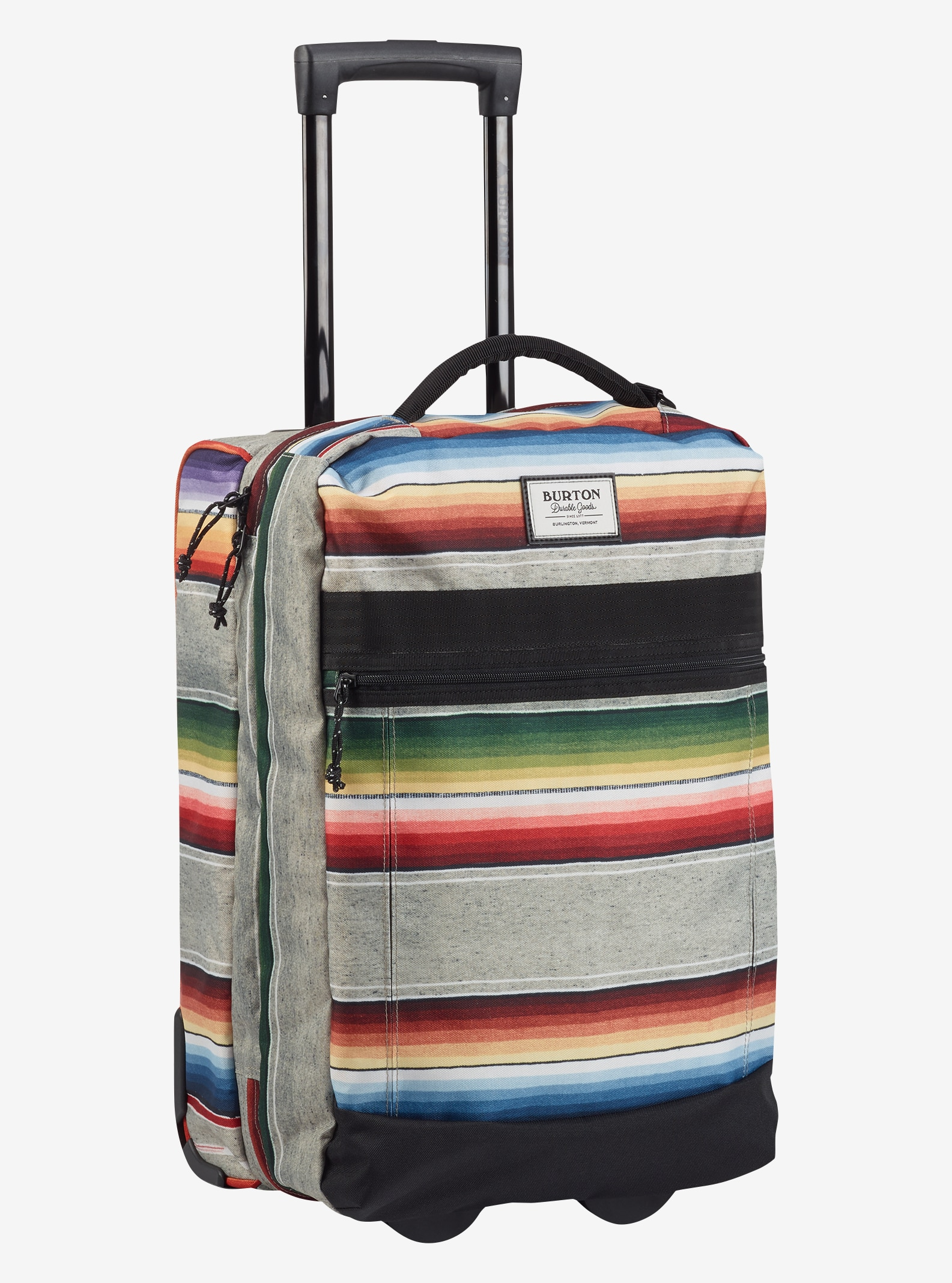 Burton Overnighter Roller Travel Bag shown in Bright Sinola Stripe Print
