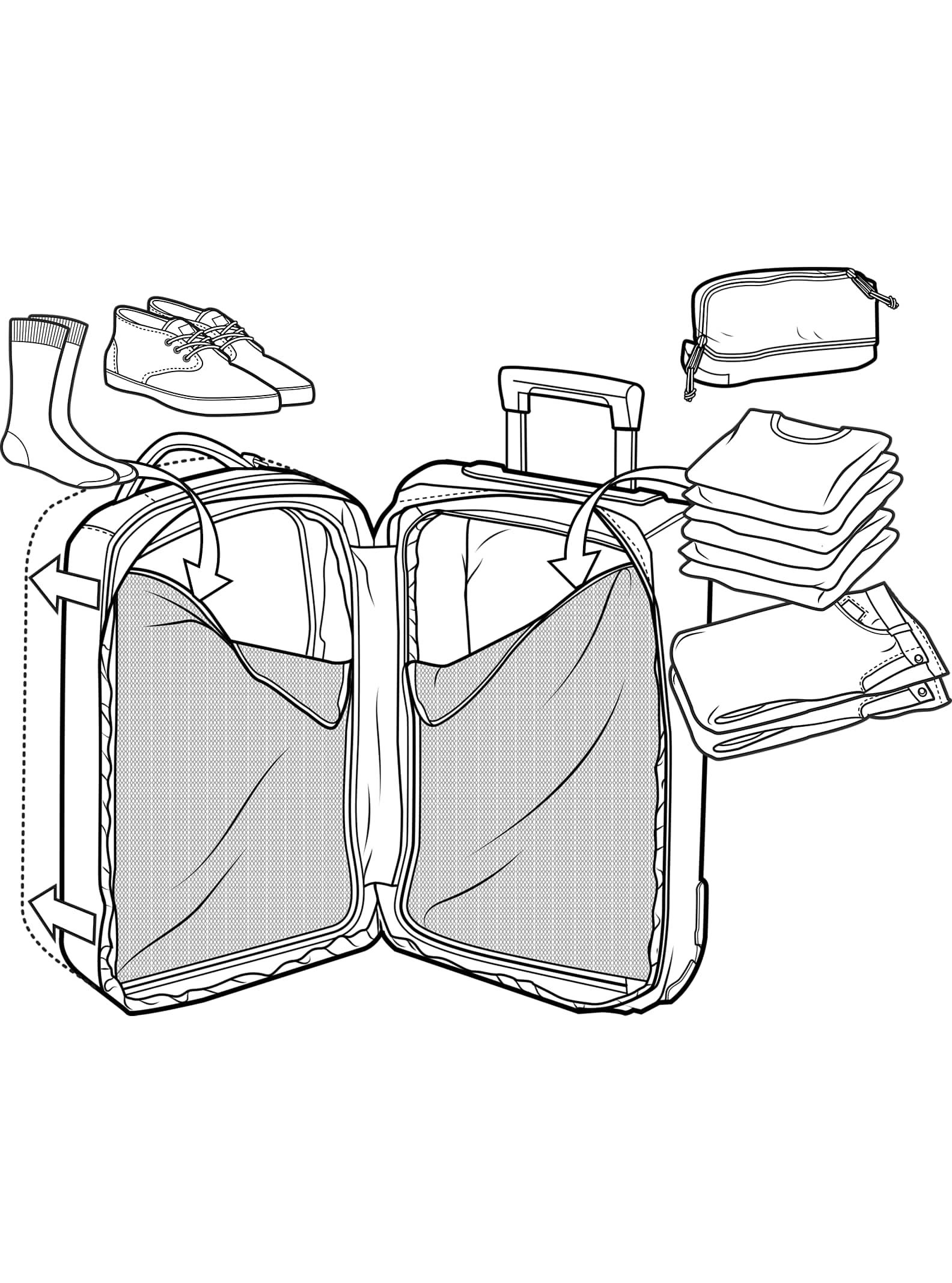 590e3544ade67 Burton Charter Roller Travel Bag | Burton Snowboards Fall 2017
