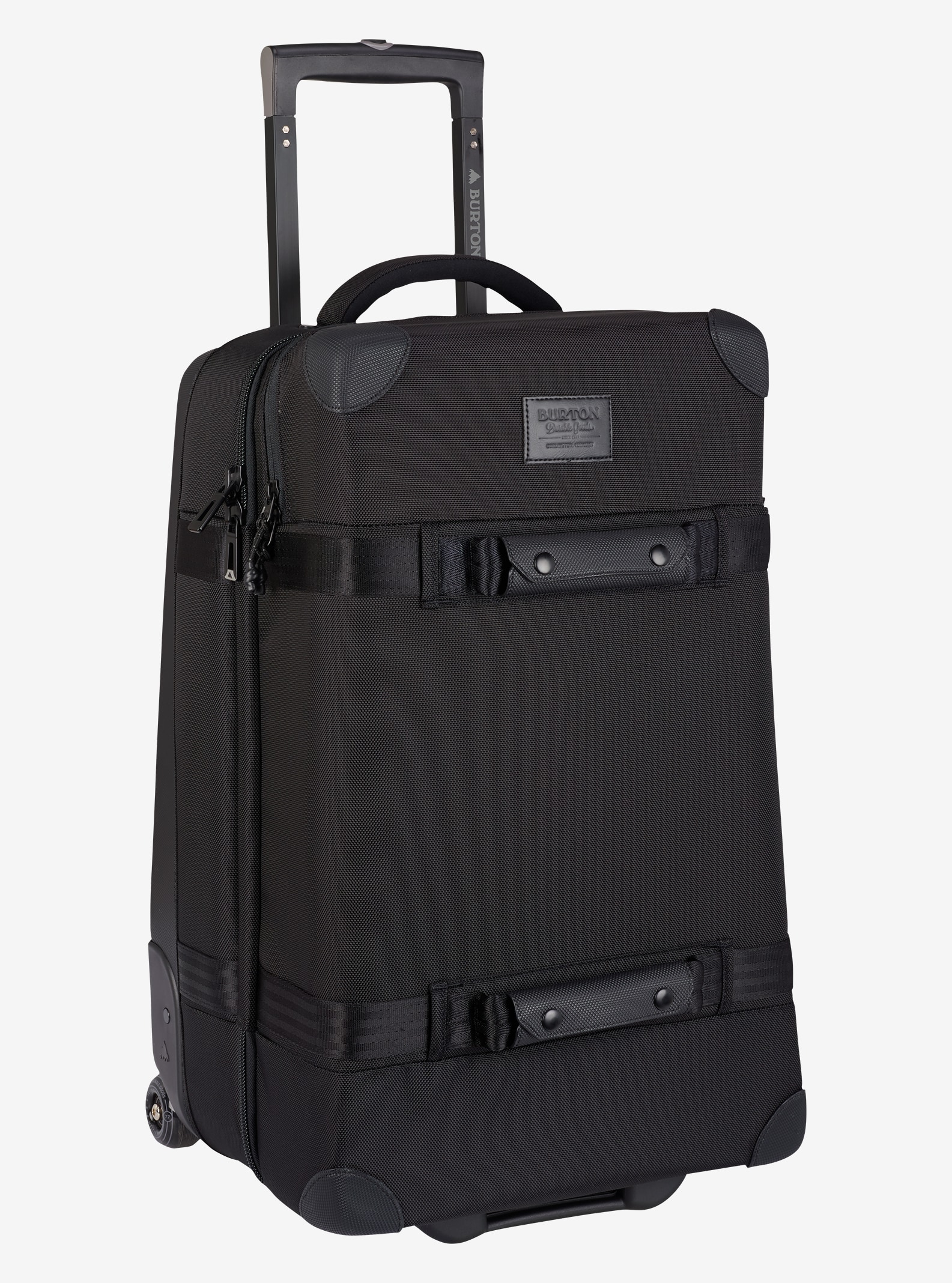 Burton Wheelie Cargo Travel Bag shown in True Black Ballistic