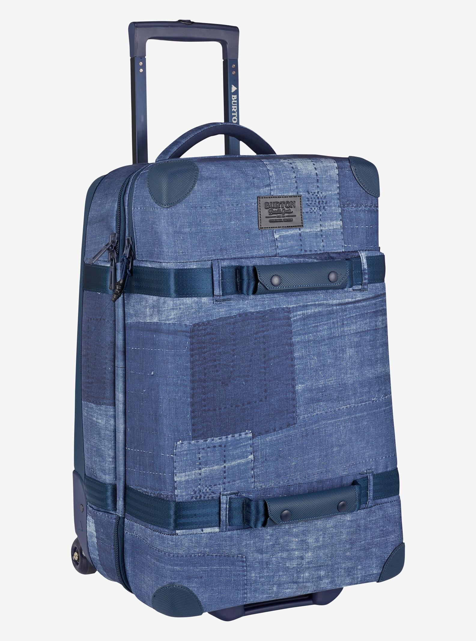 Burton Wheelie Cargo Travel Bag shown in Indiohobo Print
