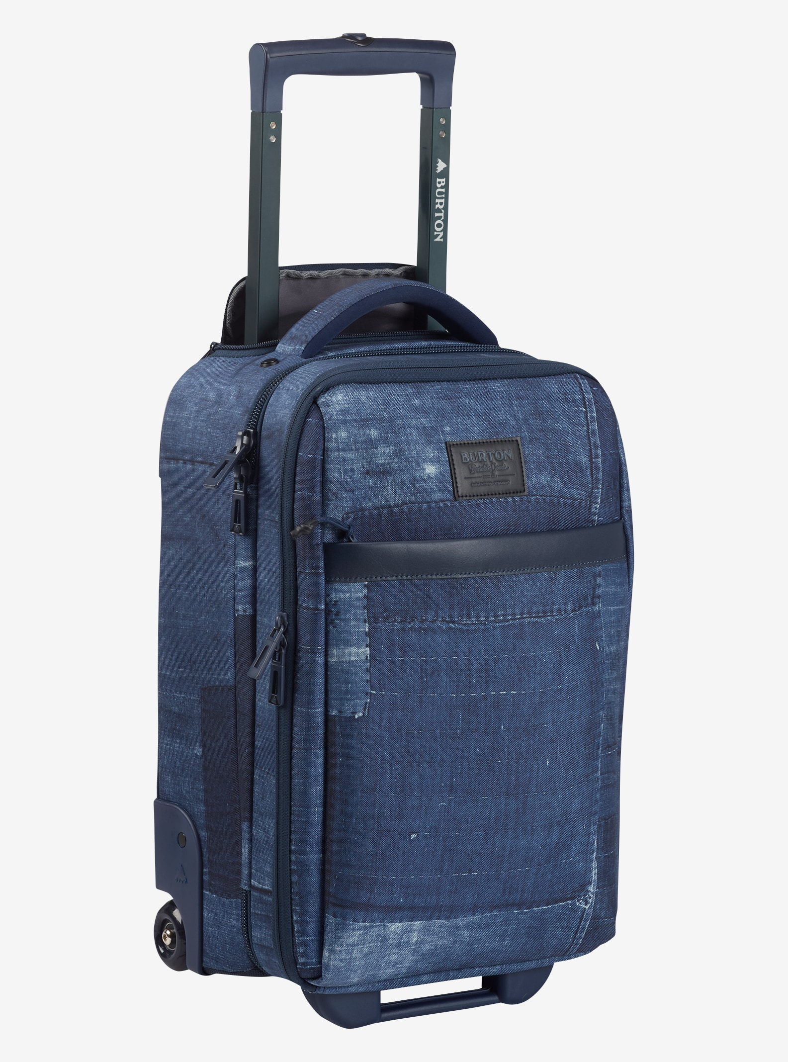 Burton Wheelie Flyer Travel Bag shown in Indiohobo Print