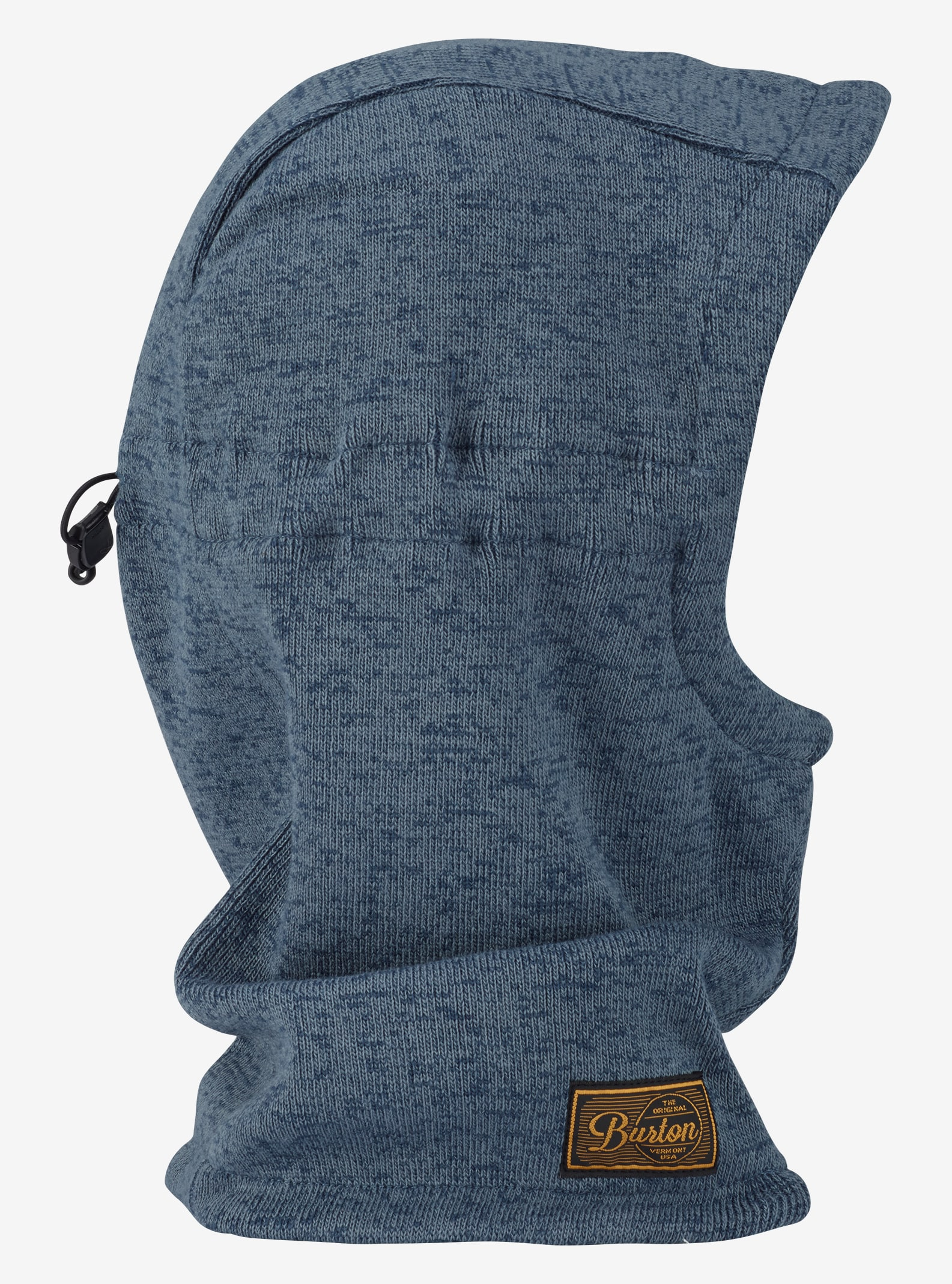 Men's Burton Hampshire Hood shown in Mood Indigo / LA Sky Marl