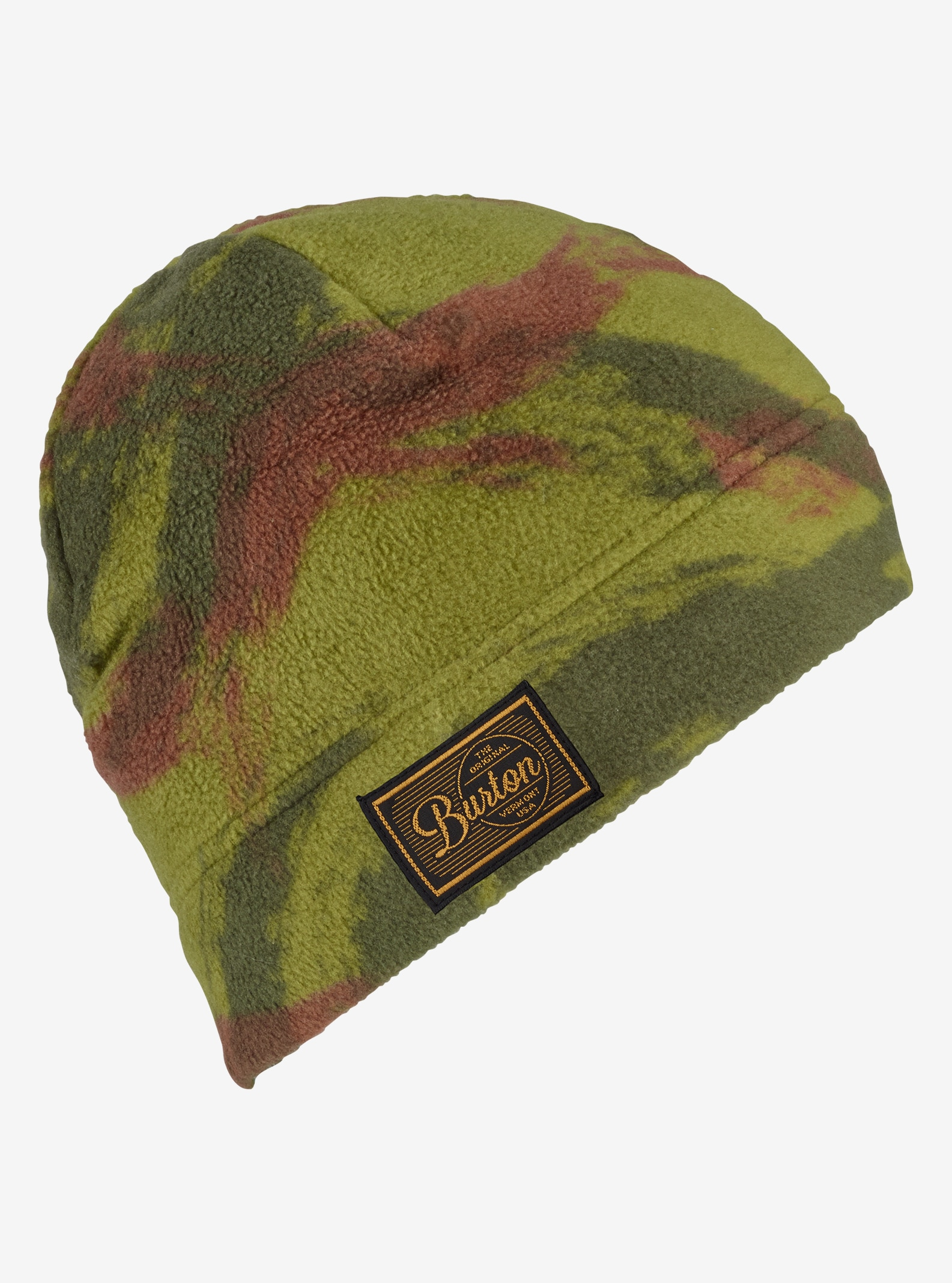 Burton Ember Fleece Beanie shown in Brush Camo