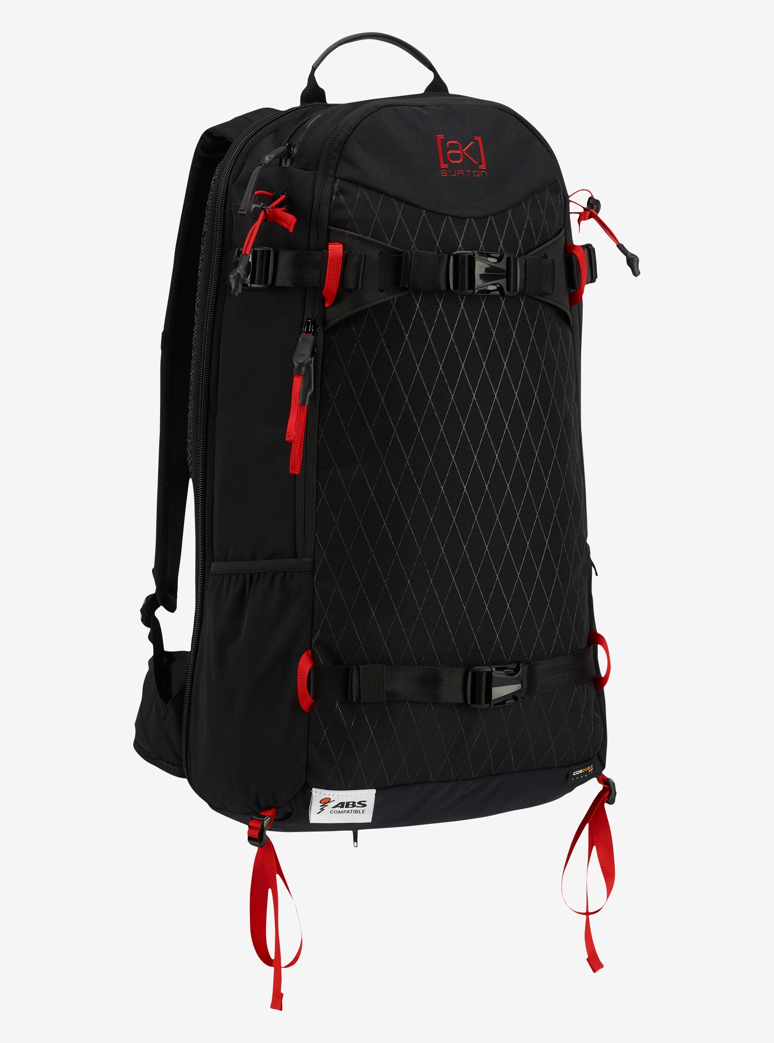 Burton ABS Vario Compatible 24L Backpack shown in Black Cordura®