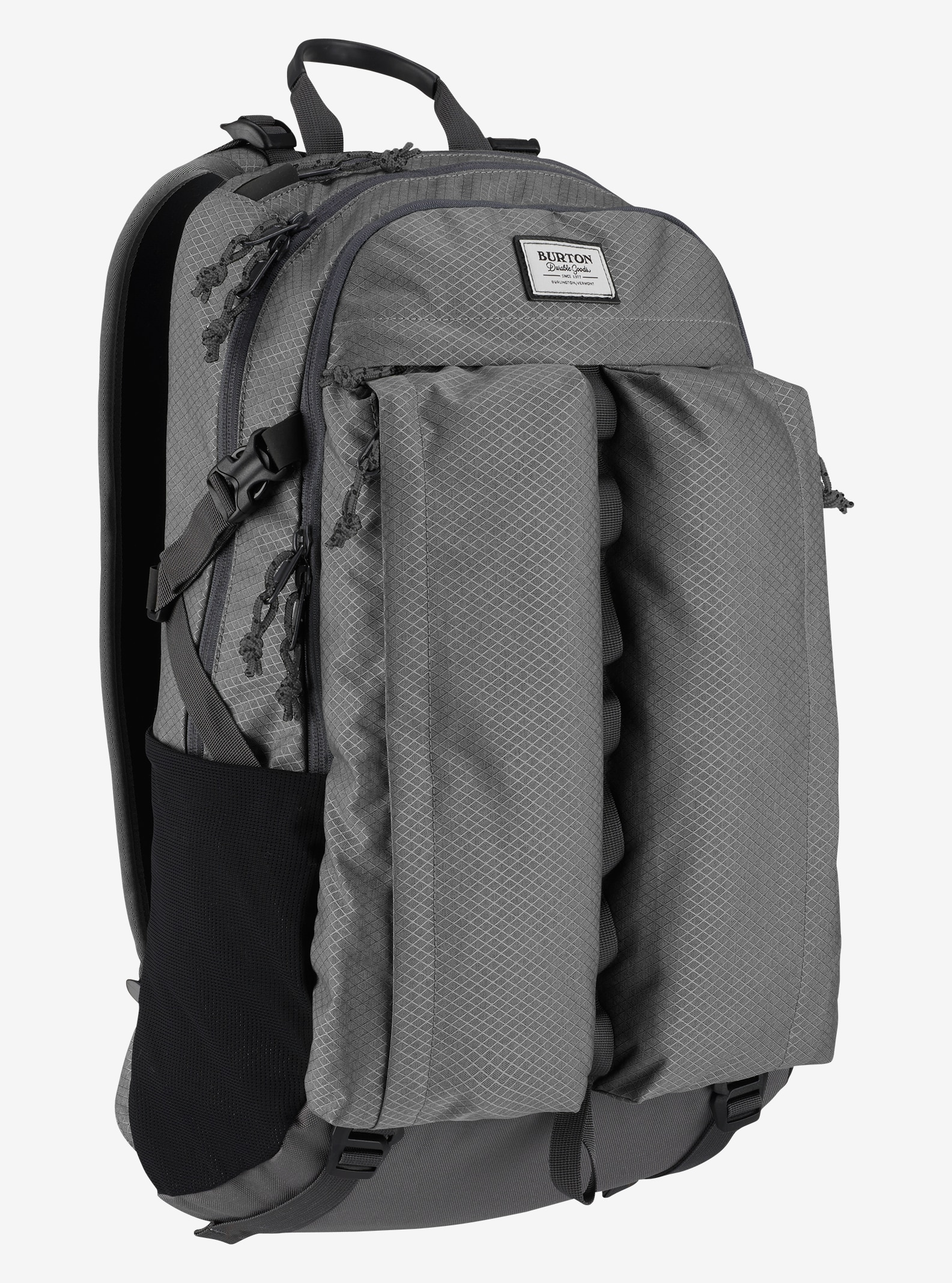 Burton Bravo Backpack shown in Faded Diamond Ripstop