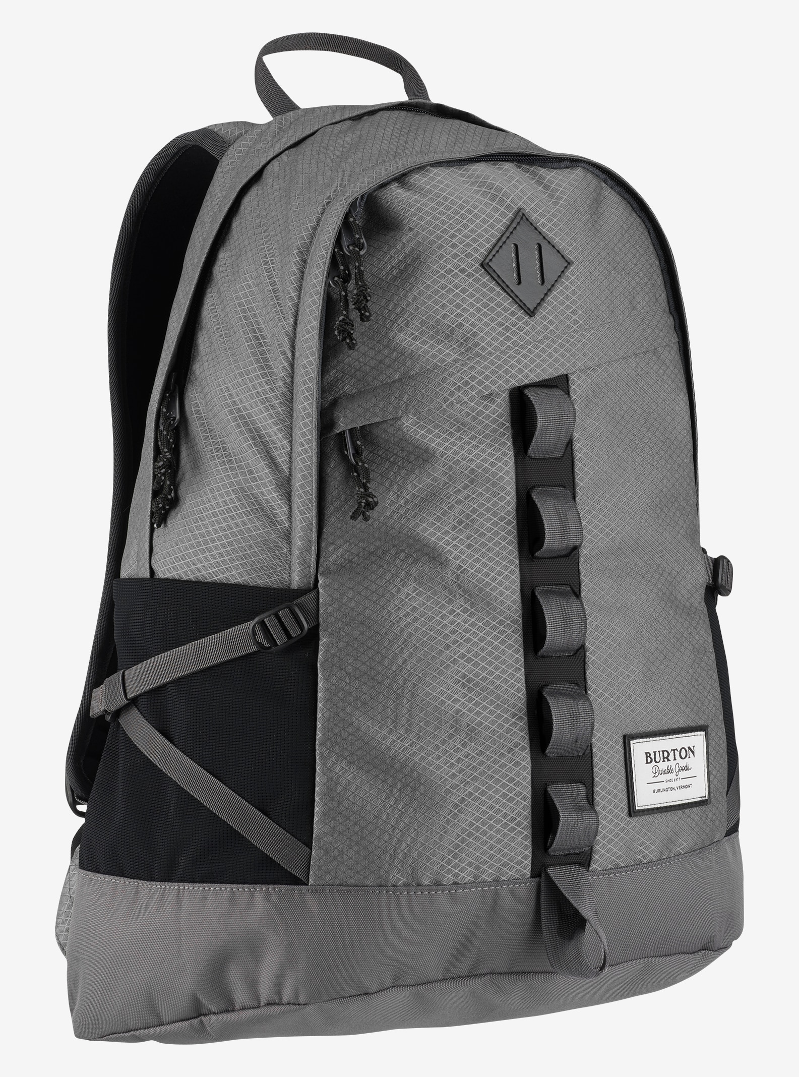 Burton Shackford Backpack shown in Faded Diamond Ripstop