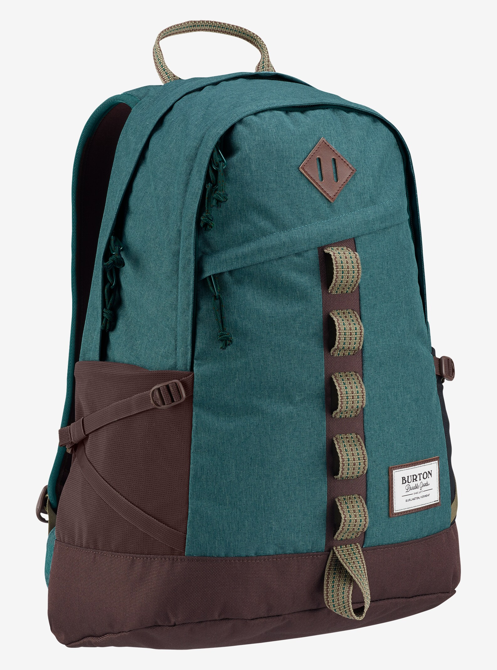dcaf66c4ad94 Teal And Grey Paisley Backpack- Fenix Toulouse Handball