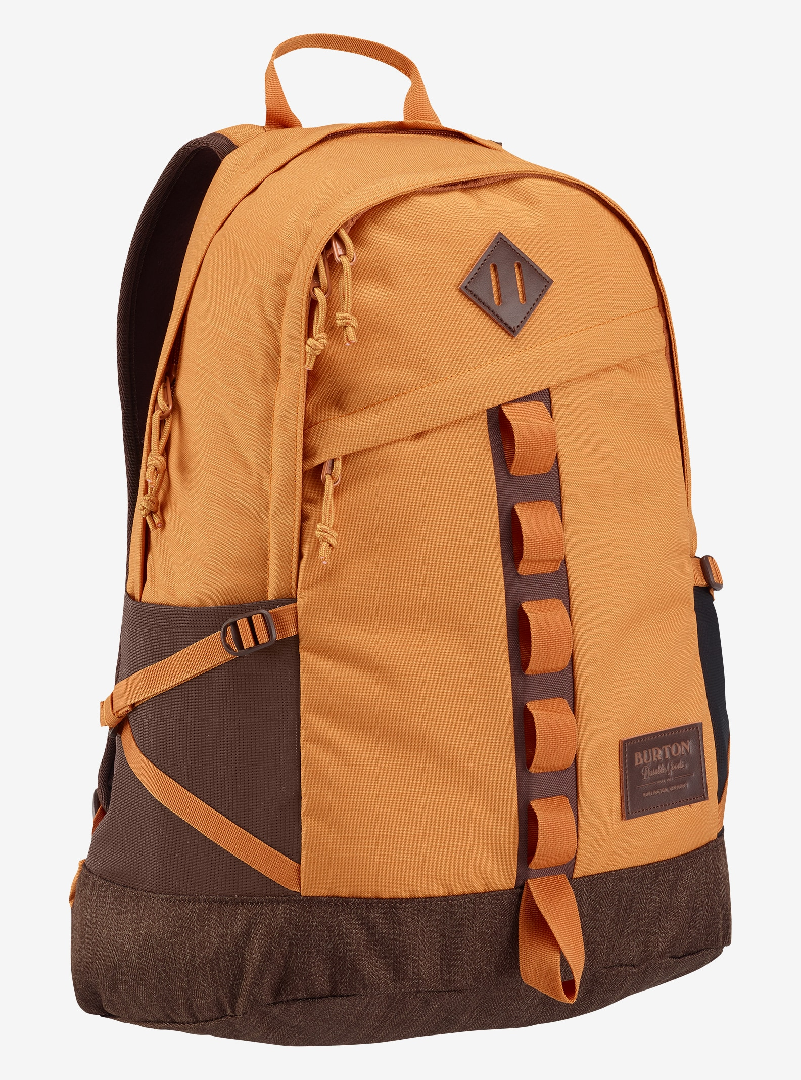 Burton Shackford Backpack shown in Golden Oak Slub
