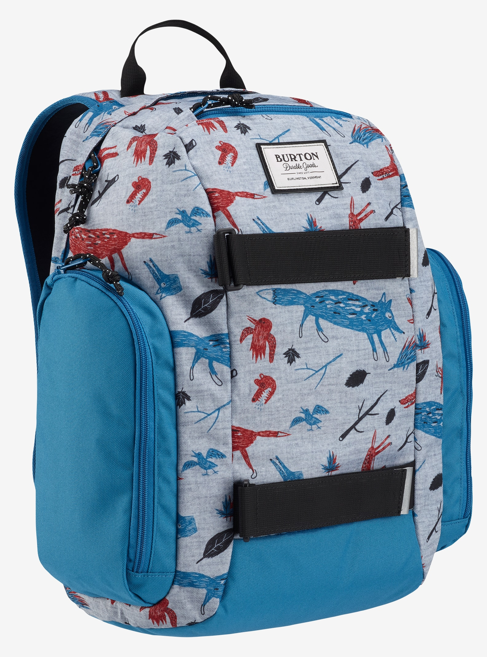 Burton Kids' Metalhead Backpack shown in Big Bad Wolf Print