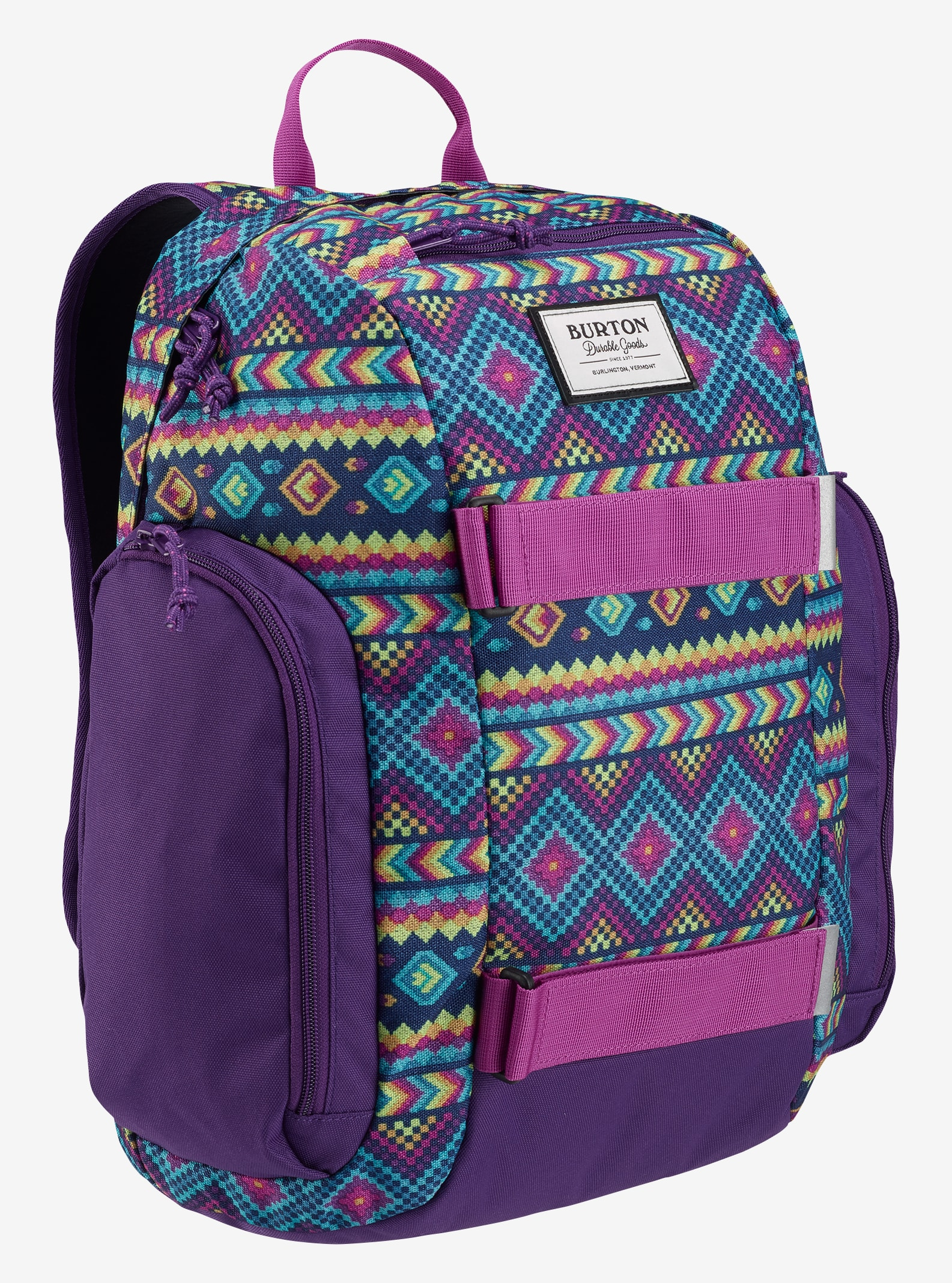 Burton Kids' Metalhead Backpack shown in Bohemia Print