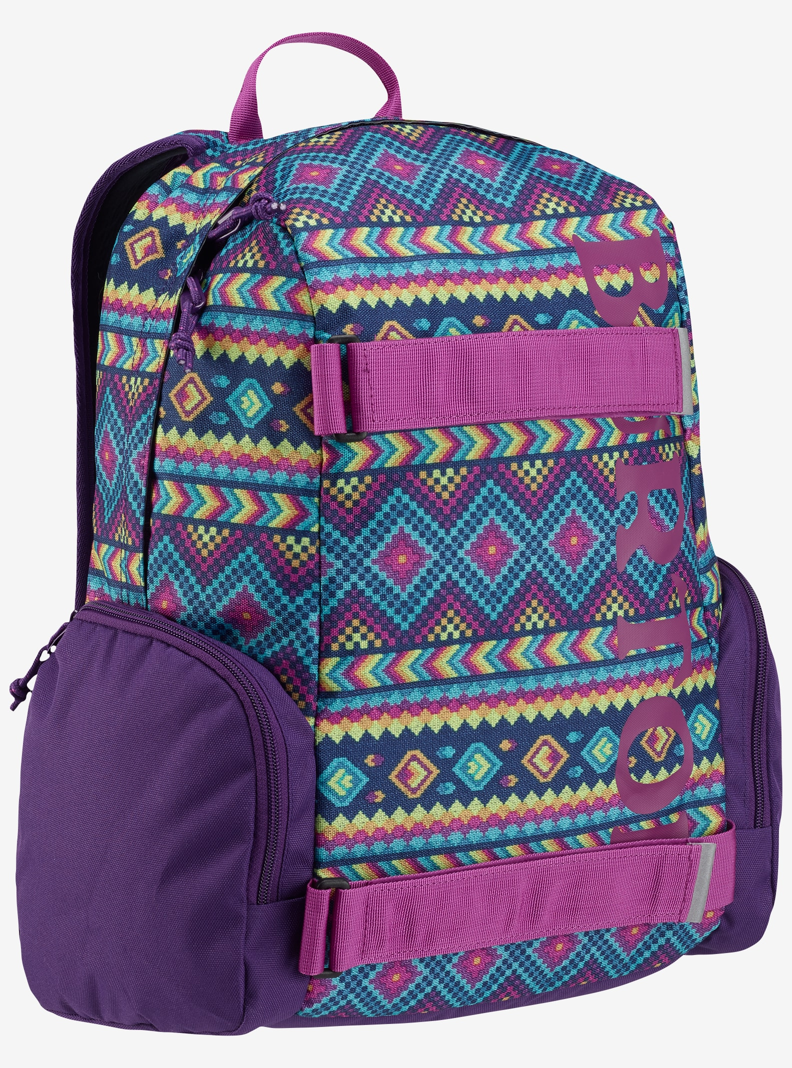 Burton Kids' Emphasis Backpack shown in Bohemia Print