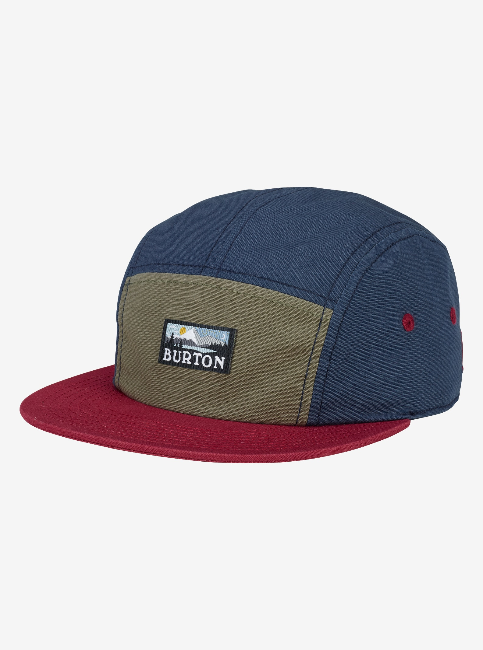 Burton Cordova 5-Panel Camp Hat shown in Indigo