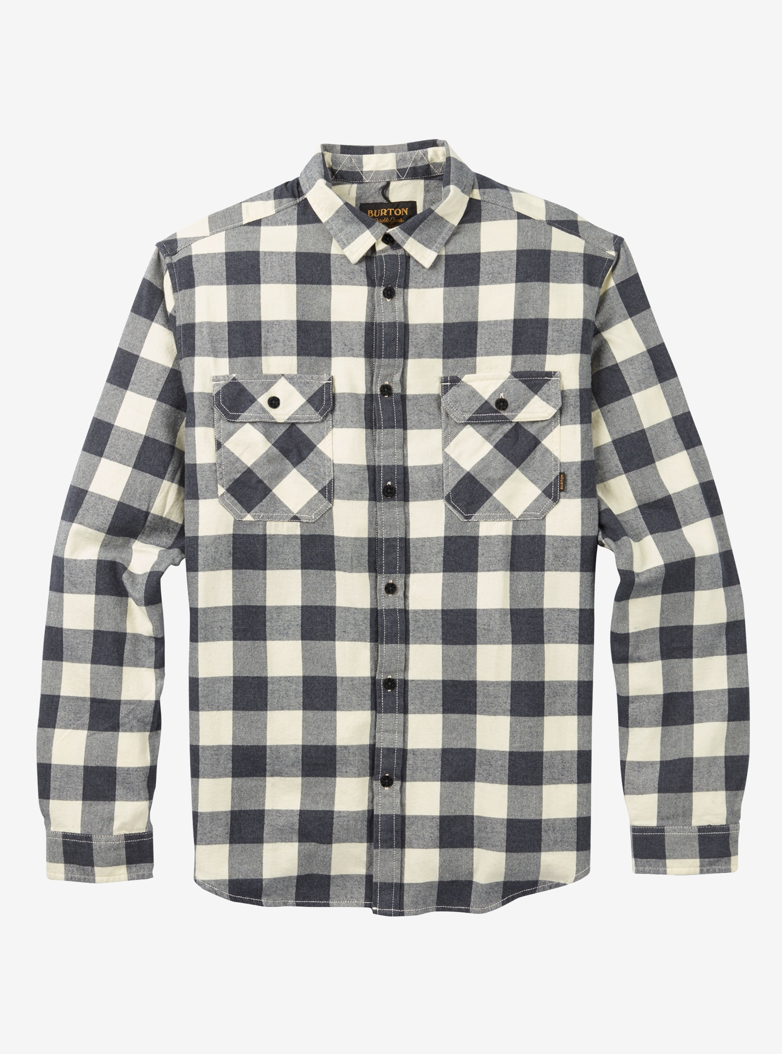 Men's Burton Brighton Flannel shown in Canvas Heather Buffalo