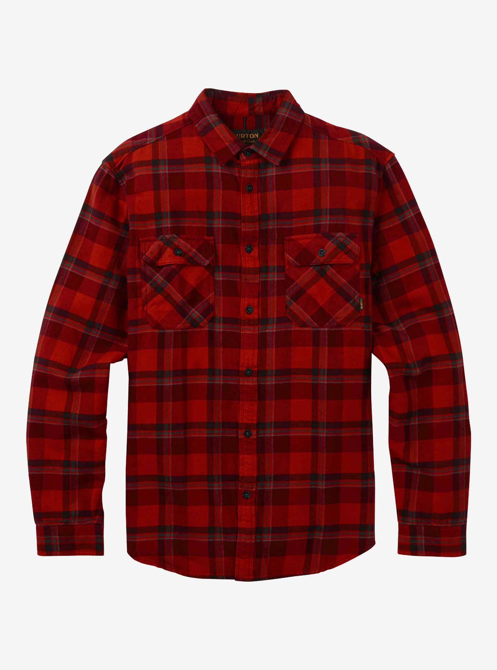 Men's Burton Brighton Flannel shown in Bitters Hawthorn Plaid