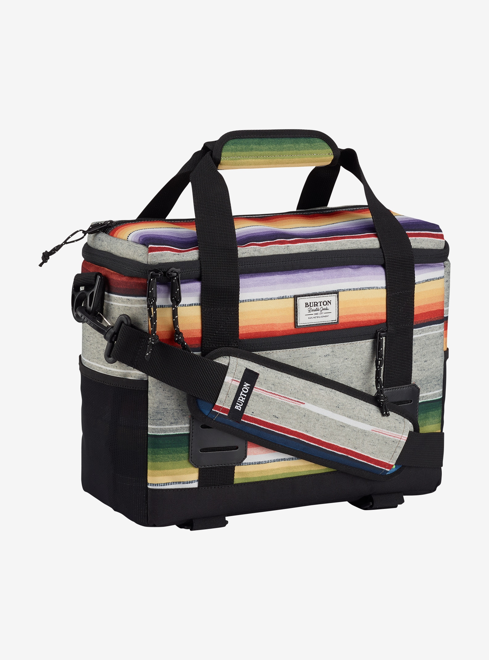 Burton Lil Buddy shown in Bright Sinola Stripe Print