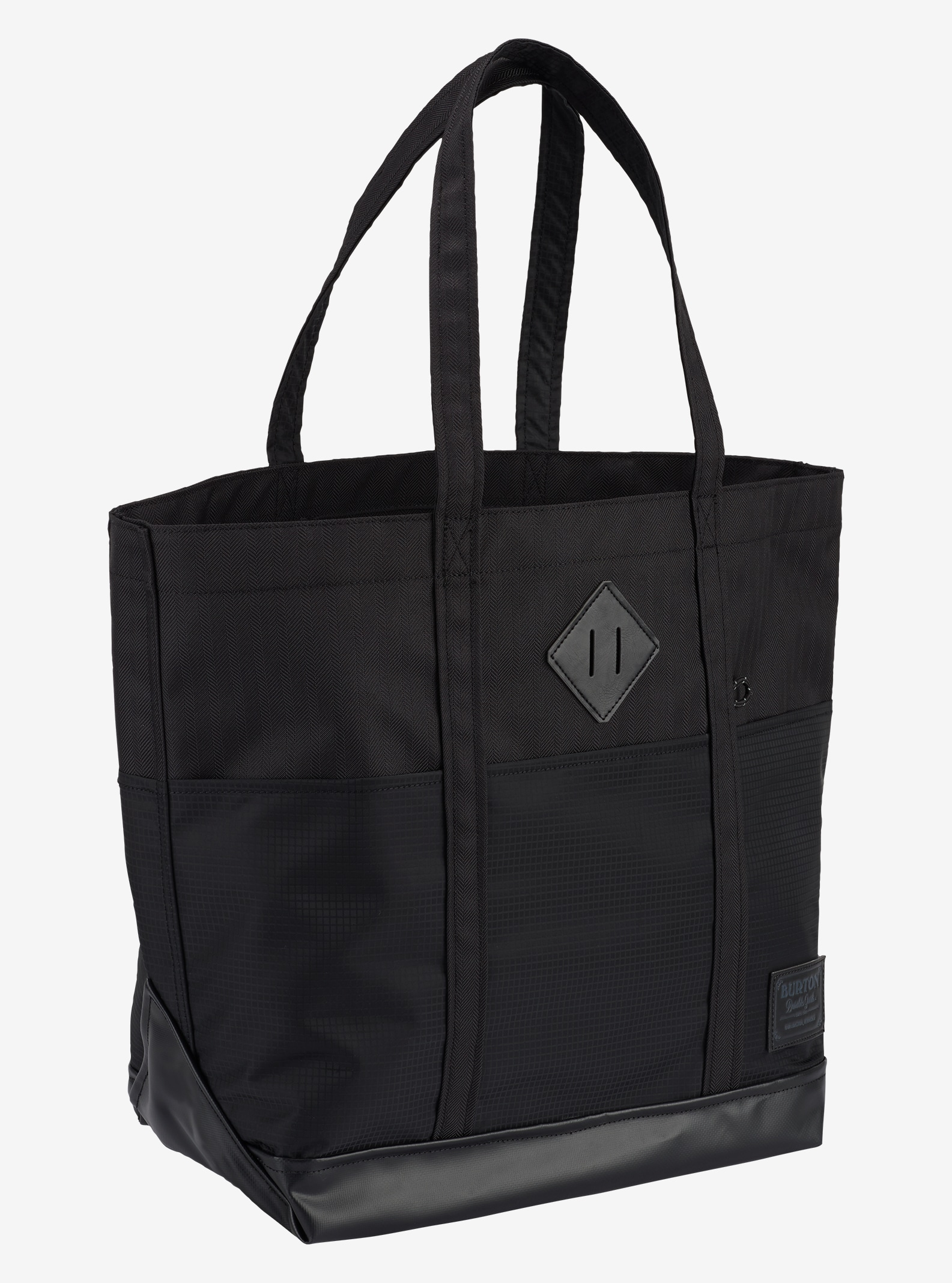 Burton - Cabas moyen Crate affichage en True Black Heather Twill