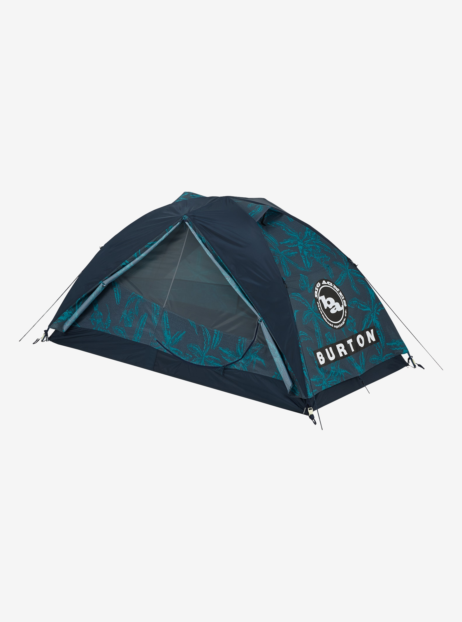 Big Agnes x Burton Blacktail 2 Tent shown in Tropical Print