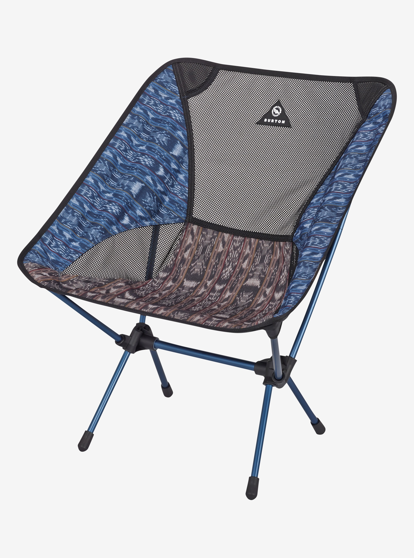 Big Agnes x Helinox x Burton Chair One shown in Guatikat Print