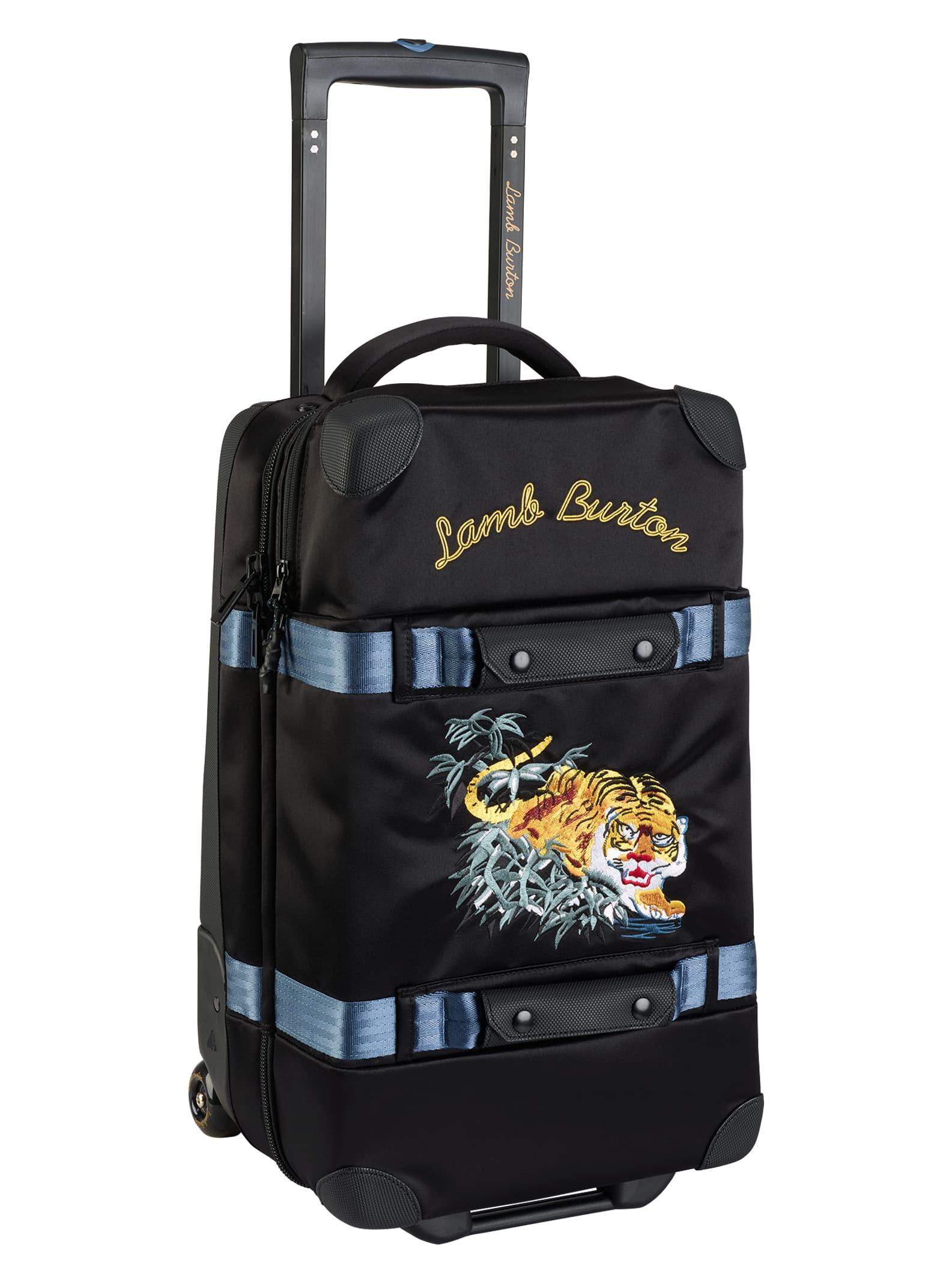 53606e5d40361 L.A.M.B. x Burton Burton Wheelie Flight Deck Travel Bag | Burton Snowboards  Fall 2017