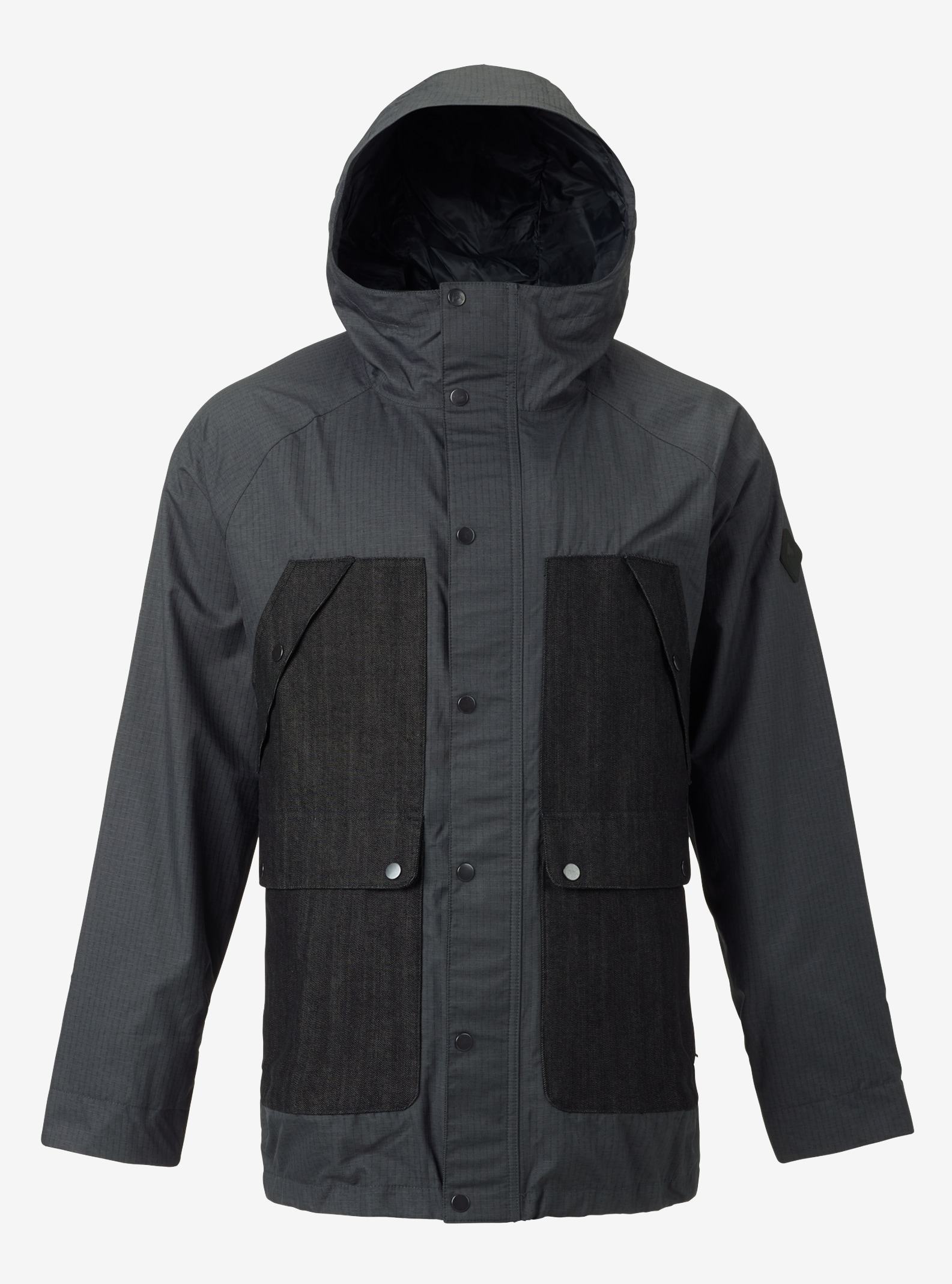 Men's Burton Bellringer Jacket shown in Faded / Denim