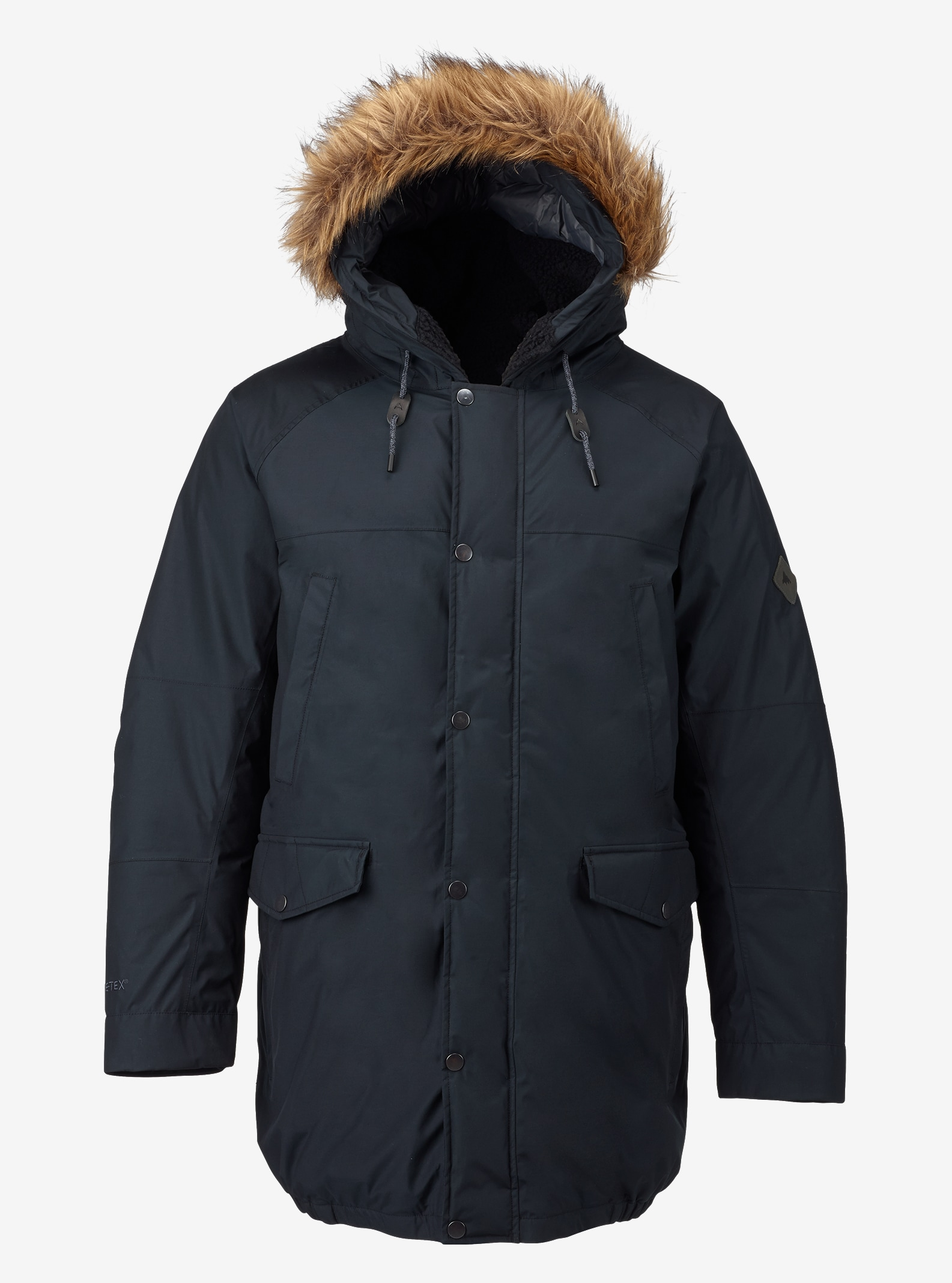 Men's Burton GORE-TEX® Garrison Jacket shown in True Black