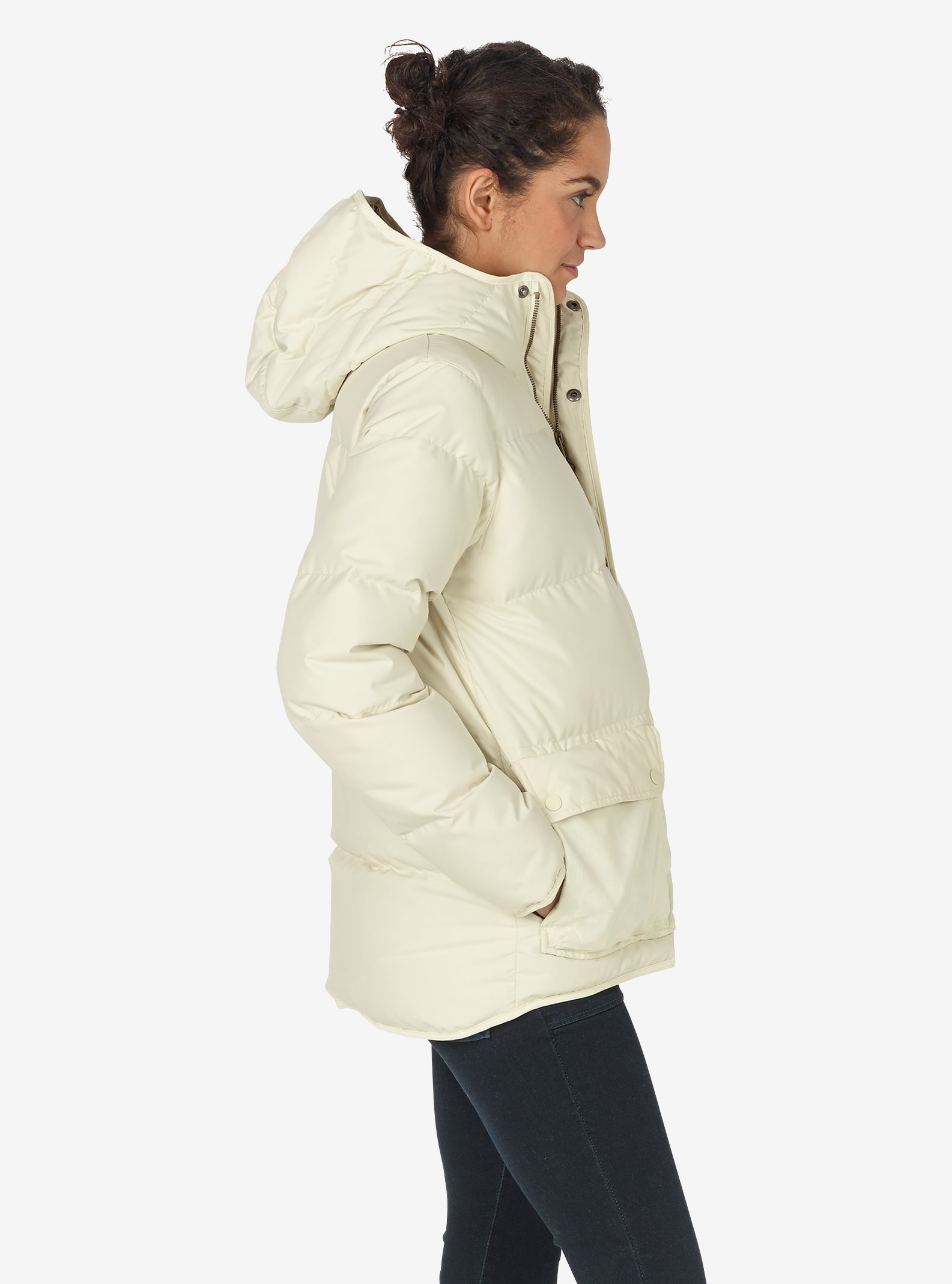 Women's Burton Mage Insulator Jacket shown in Canvas
