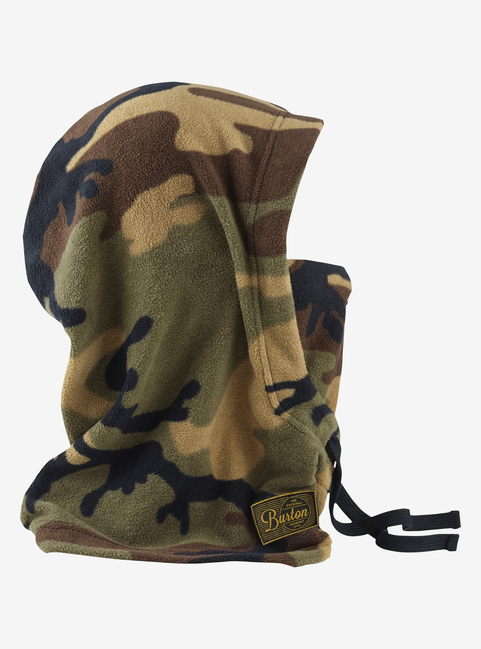 Burton Burke Hood shown in Highland Camo